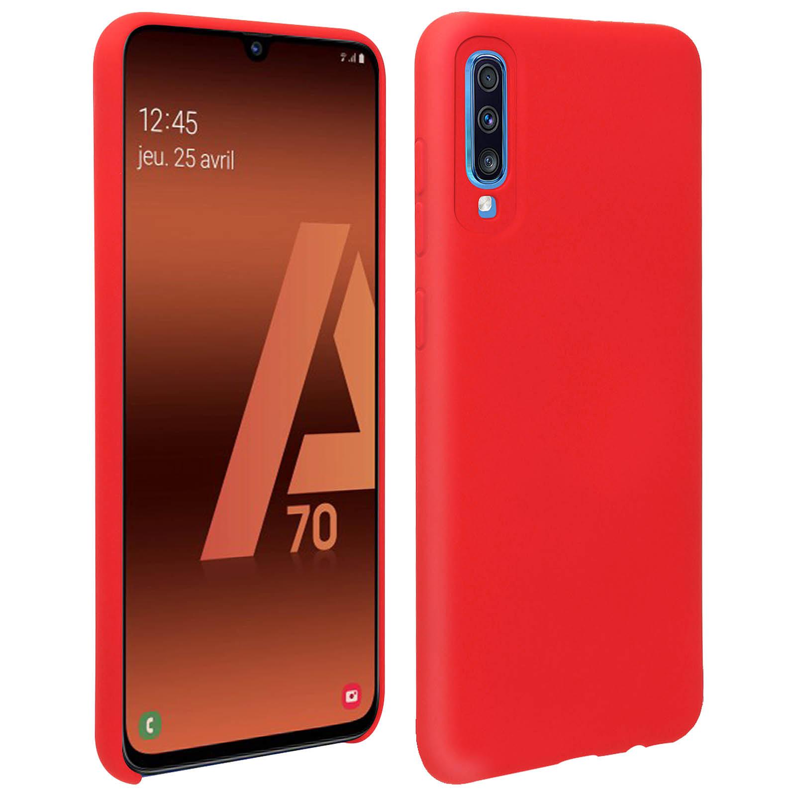 Avizar Coque Rouge pour Samsung Galaxy A70