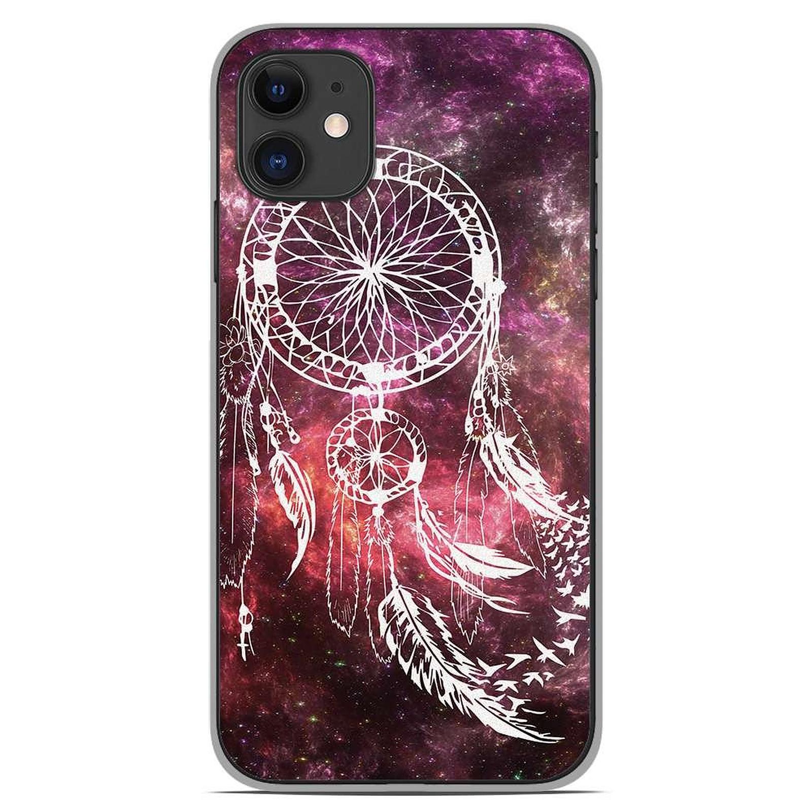 1001 Coques Coque silicone gel Apple iPhone 11 motif Dreamcatcher Space