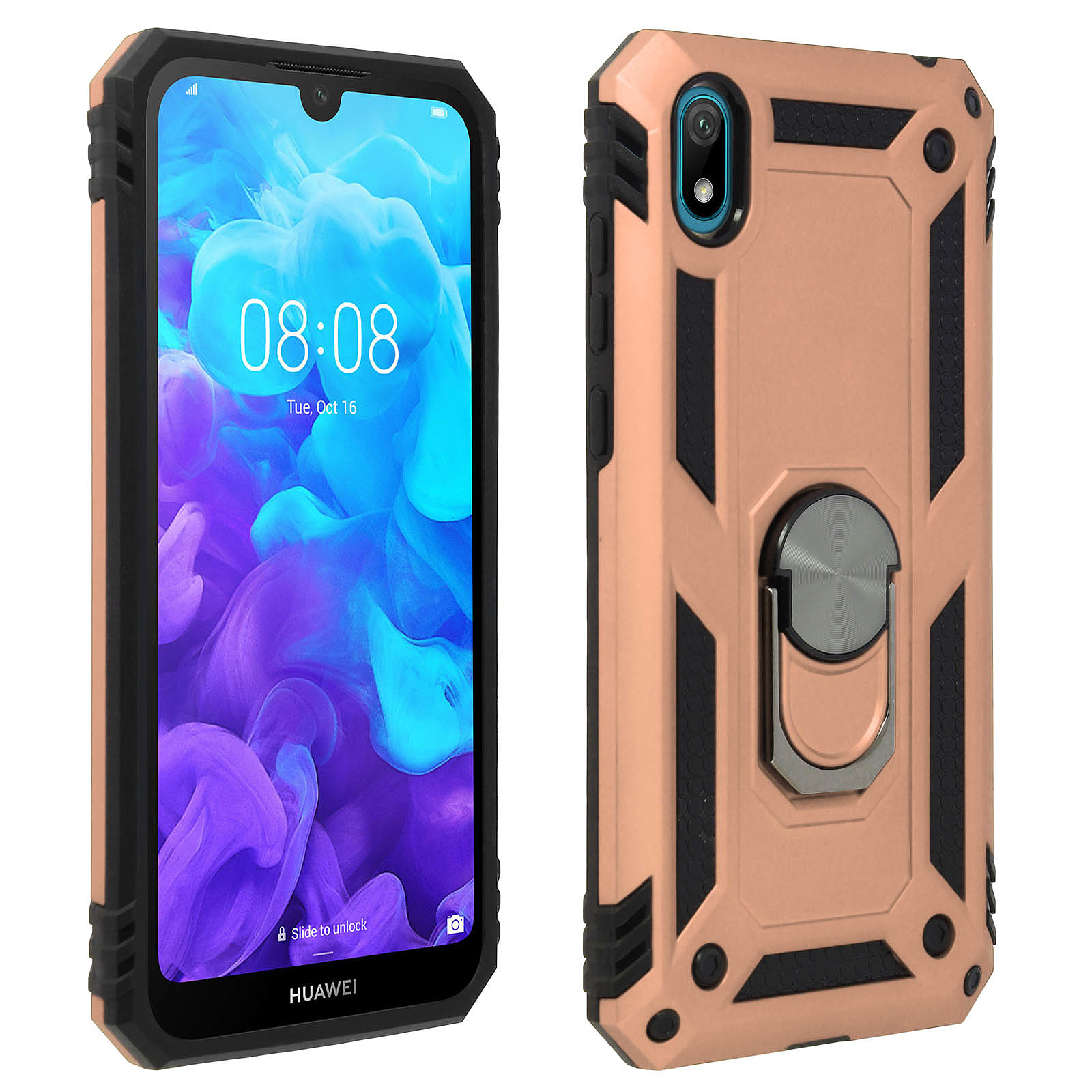 Avizar Coque Rose Champagne pour Huawei Y5 2019 , Honor 8S