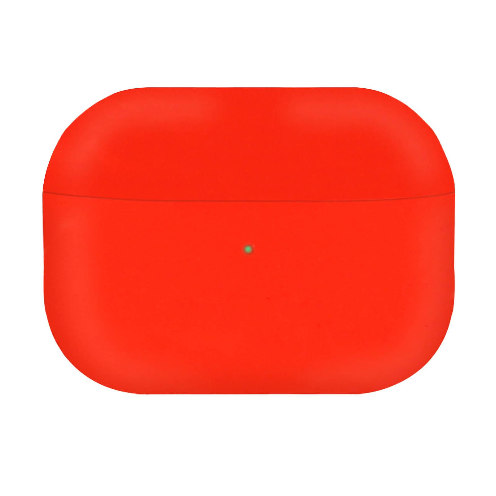 Avizar Coque Rouge pour Apple AirPods Pro