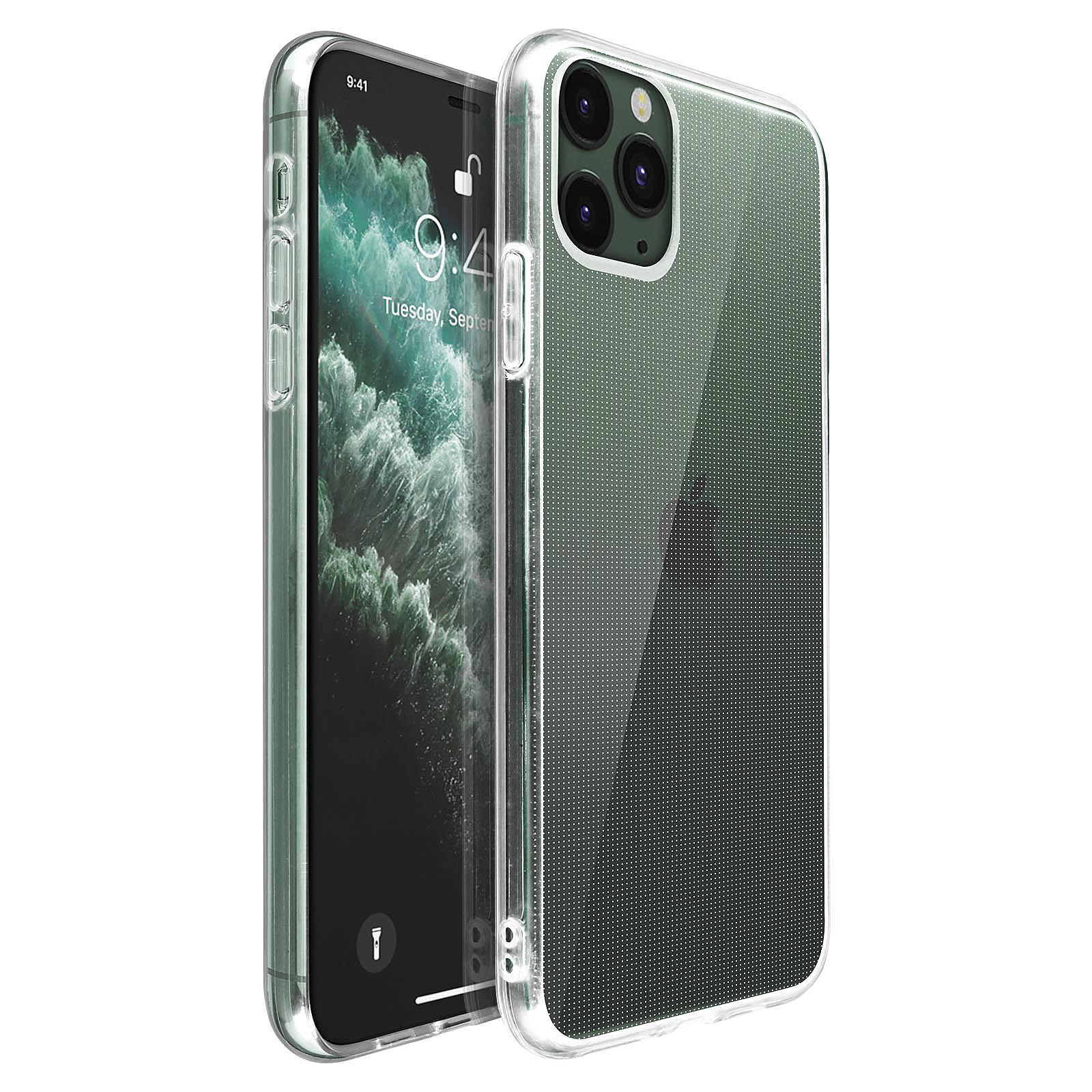 Avizar Coque Transparent Souple pour Apple iPhone 11 Pro Max
