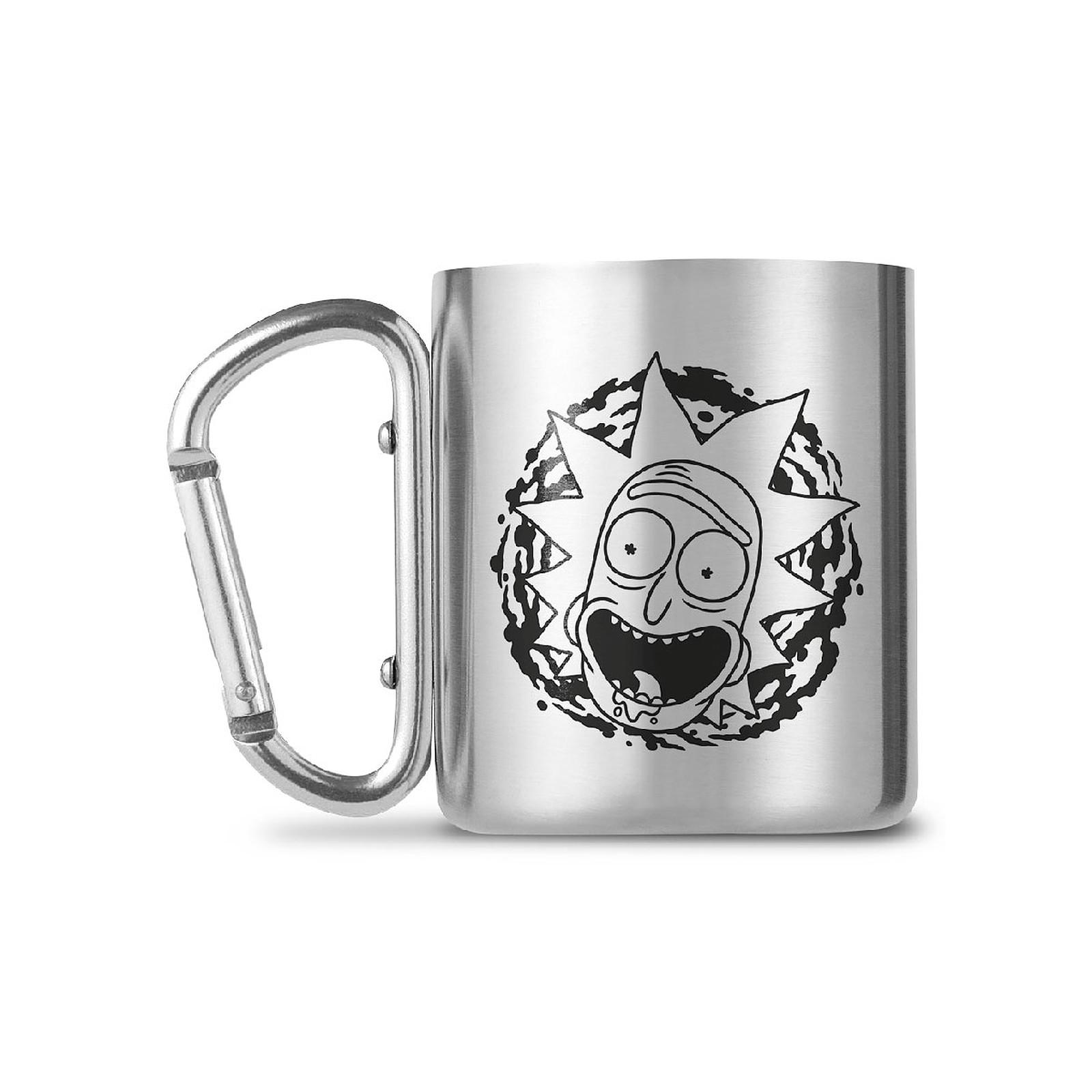 Rick et Morty - Mug Carabiner Rick and Morty