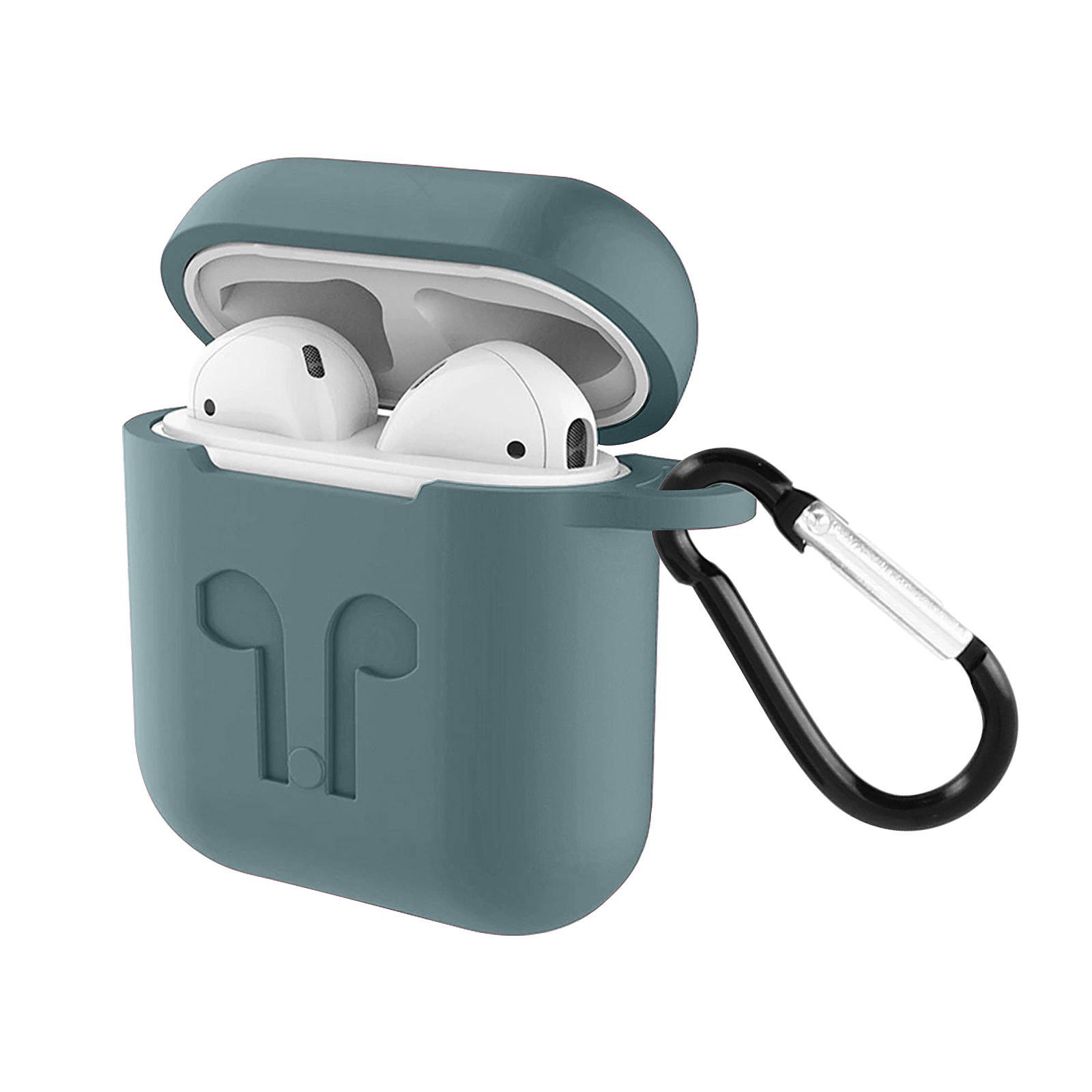Avizar Coque Gris pour Apple AirPods 1 et 2