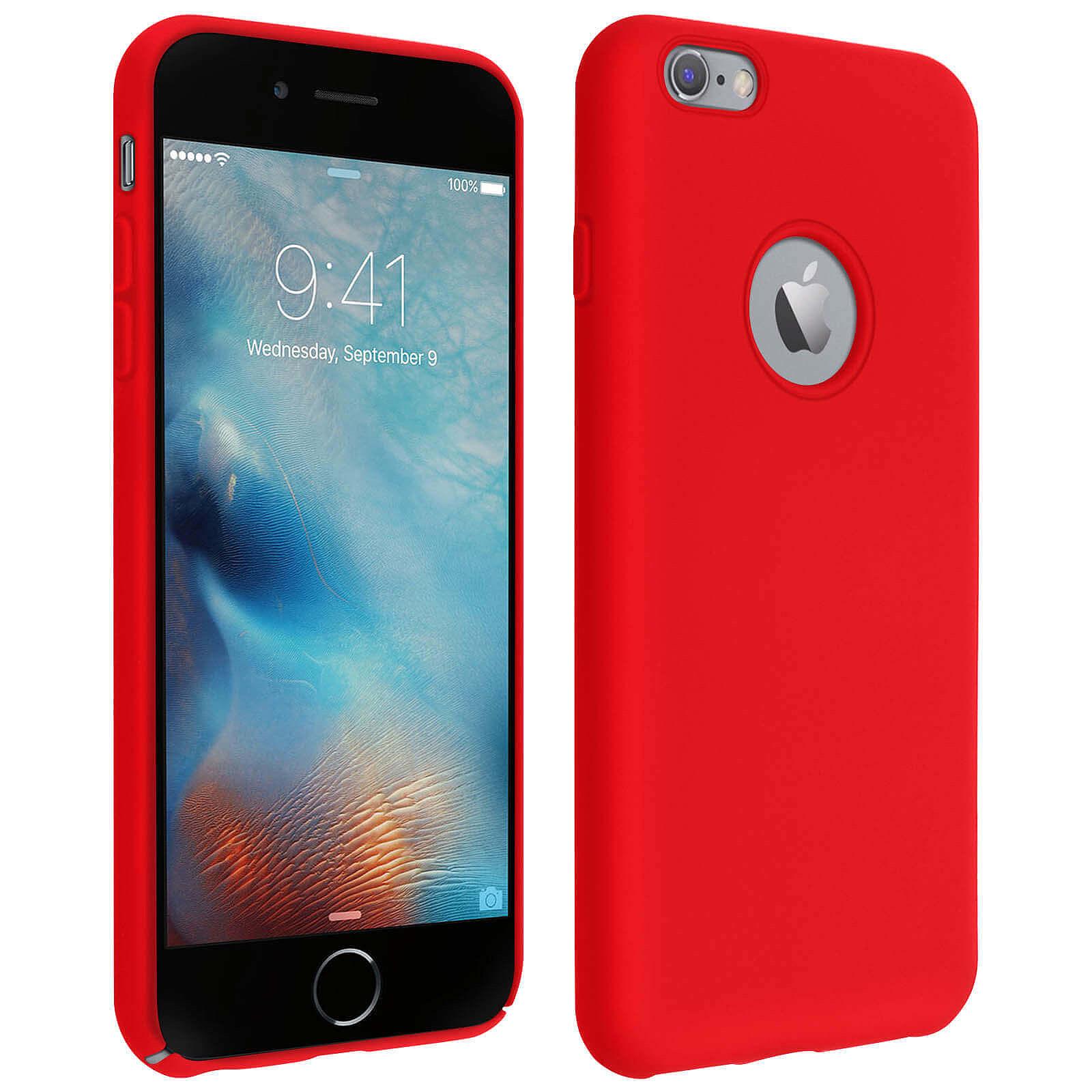 Avizar Coque Rouge pour Apple iPhone 6 Plus , Apple iPhone 6S Plus
