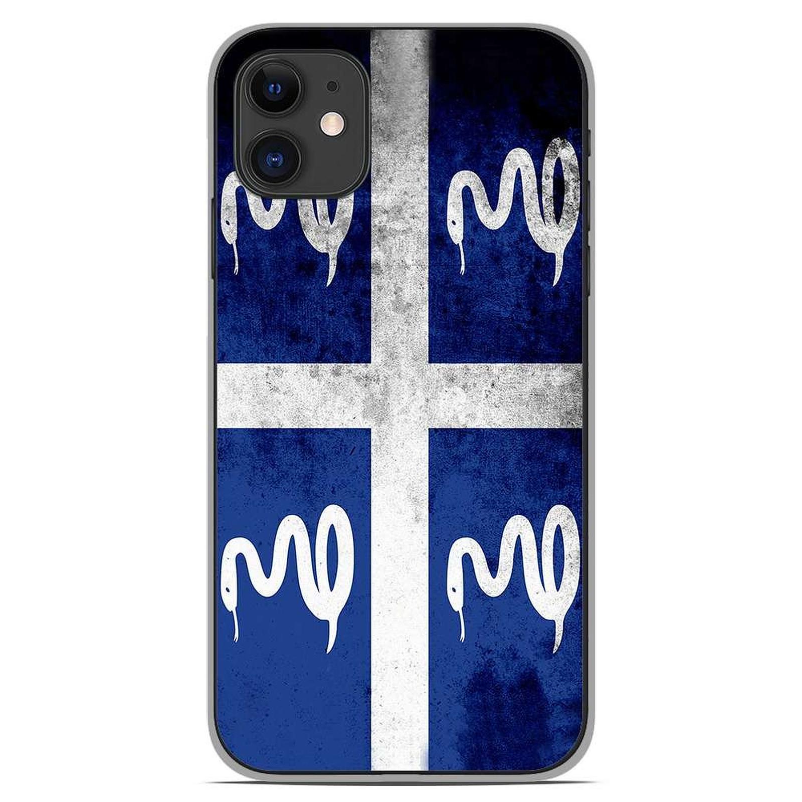 1001 Coques Coque silicone gel Apple iPhone 11 motif Drapeau Martinique