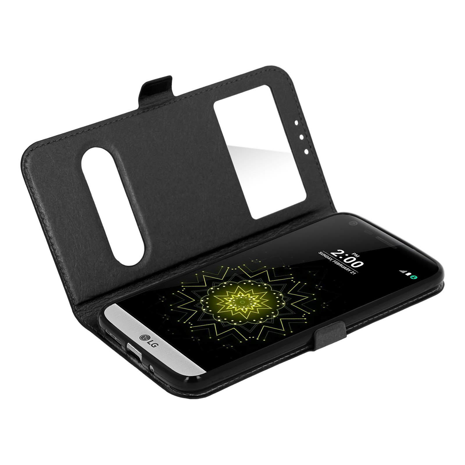 Avizar Etui folio Noir pour LG G5