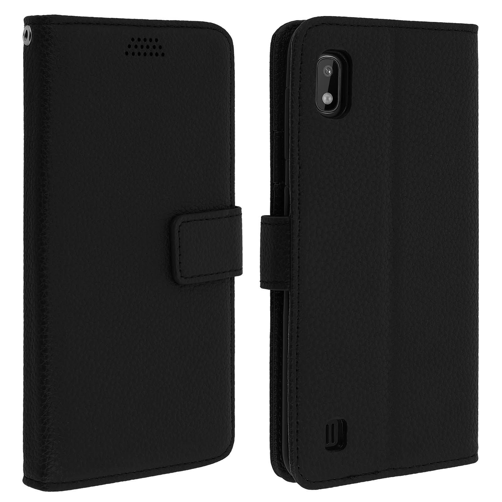 Avizar Etui folio Noir pour Samsung Galaxy A10