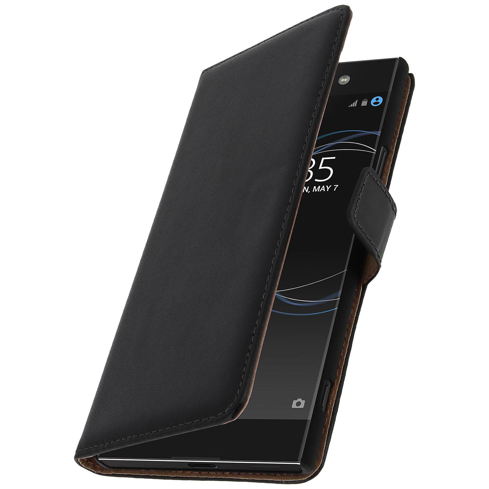 Avizar Etui folio Noir pour Sony Xperia XA1 Ultra