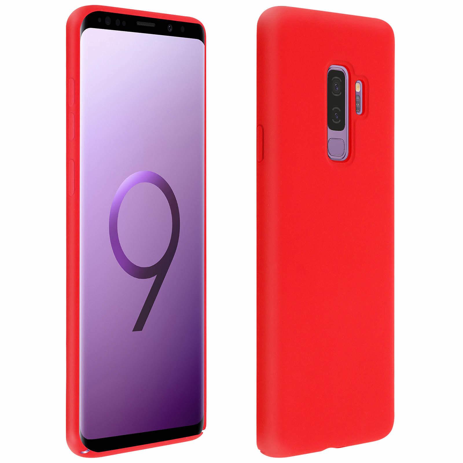 Avizar Coque Rouge pour Samsung Galaxy S9 Plus