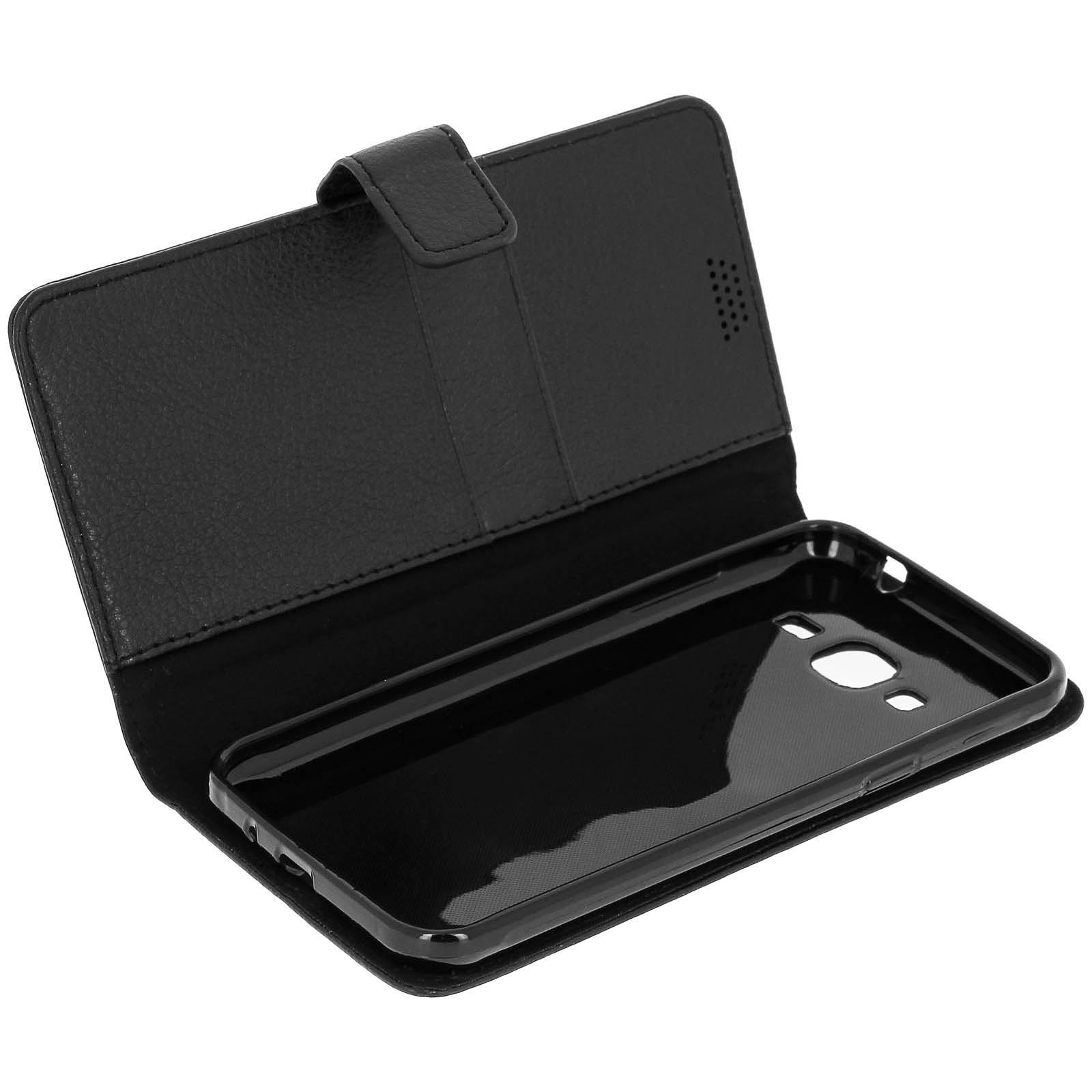 Avizar Etui folio Noir pour Samsung Galaxy J3