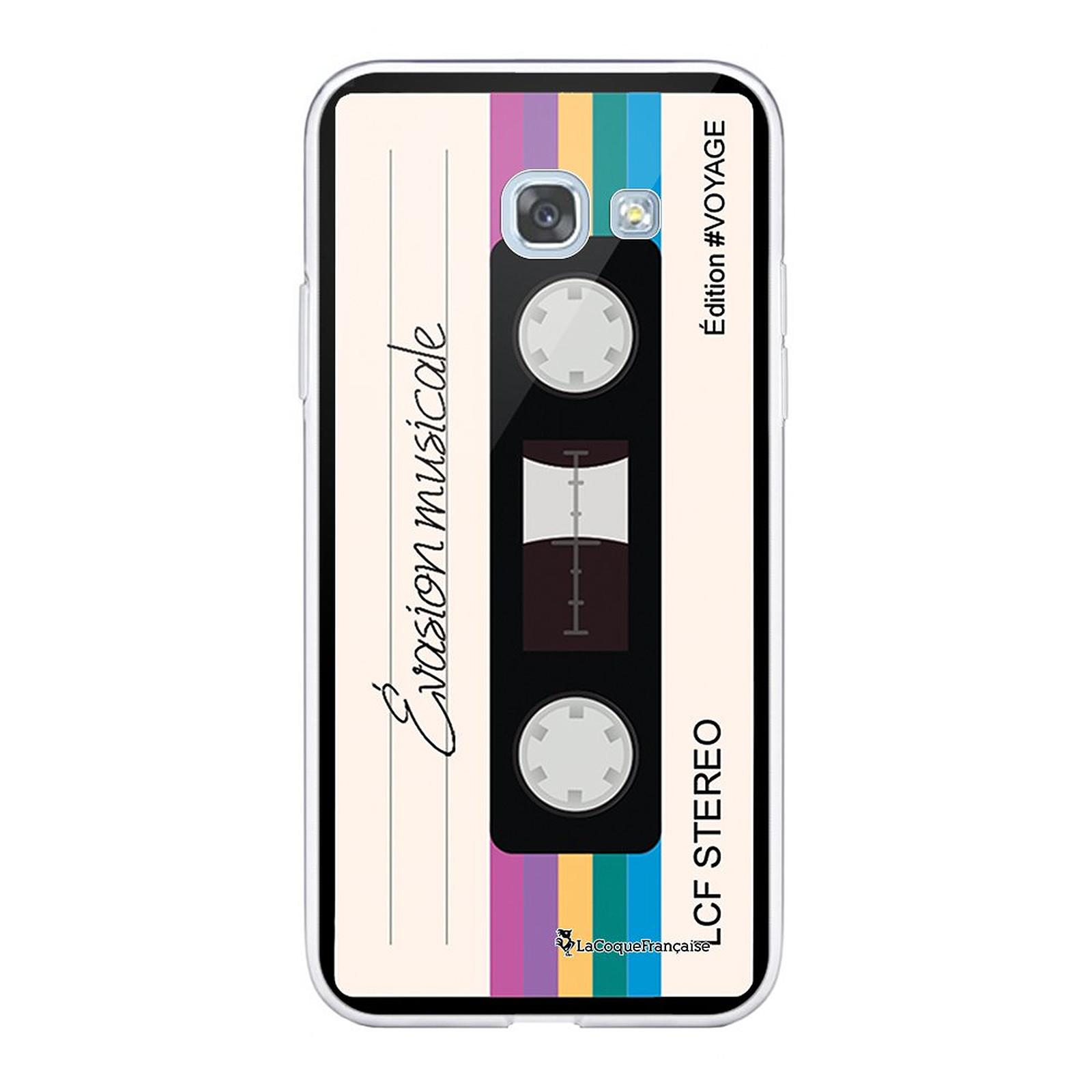 LA COQUE FRANCAISE Coque Samsung Galaxy A5 2017 360 intégrale transparente Cassette Vintage Evasion Tendance