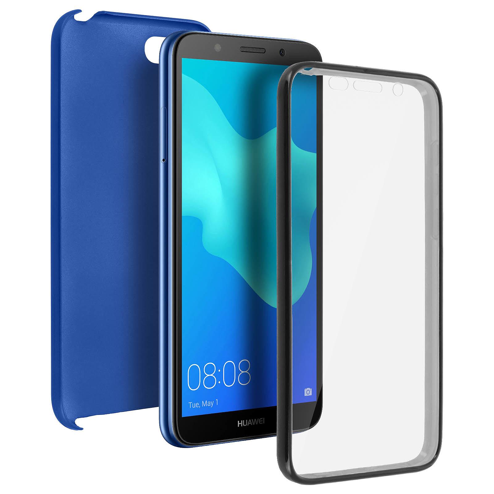 Avizar Coque Bleu pour Huawei Y5 2018 , Honor 7S