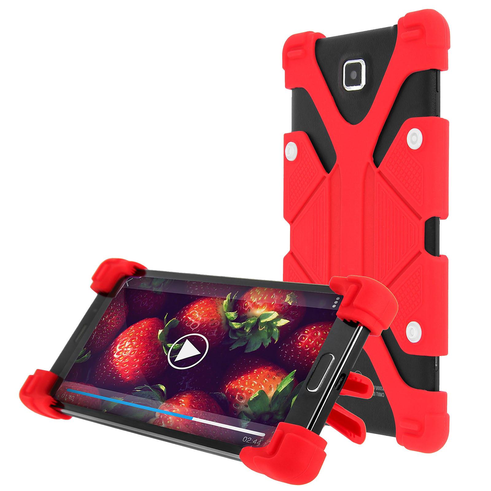 Avizar Coque Rouge pour Smartphones de 4.7' à 5.3'