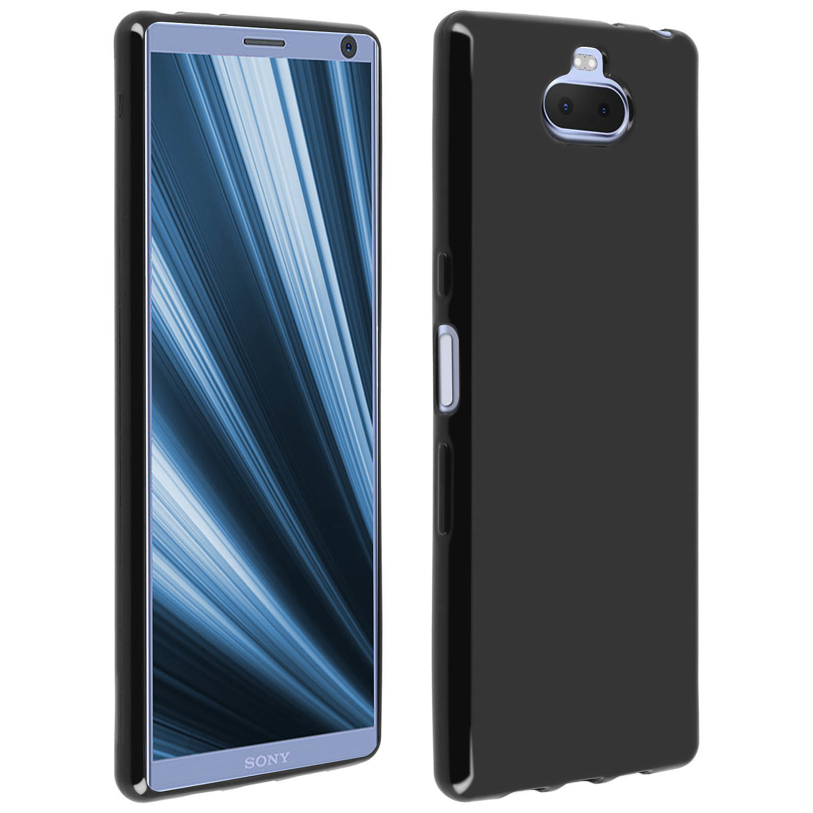 Avizar Coque Noir pour Sony Xperia 10