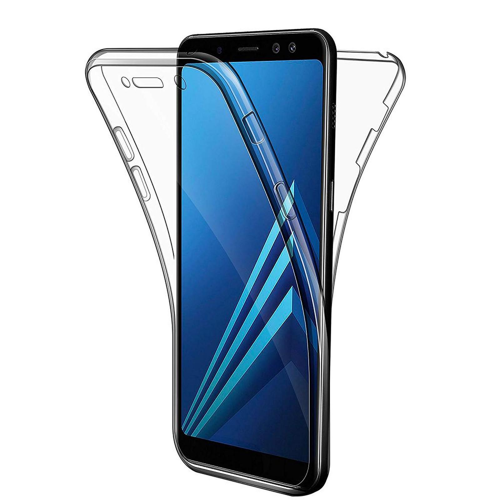 EVETANE Coque Galaxy A8 2018 Samsung 360 degrés intégrale protection avant arrière silicone transparente - Coque téléphone Evetane sur LDLC
