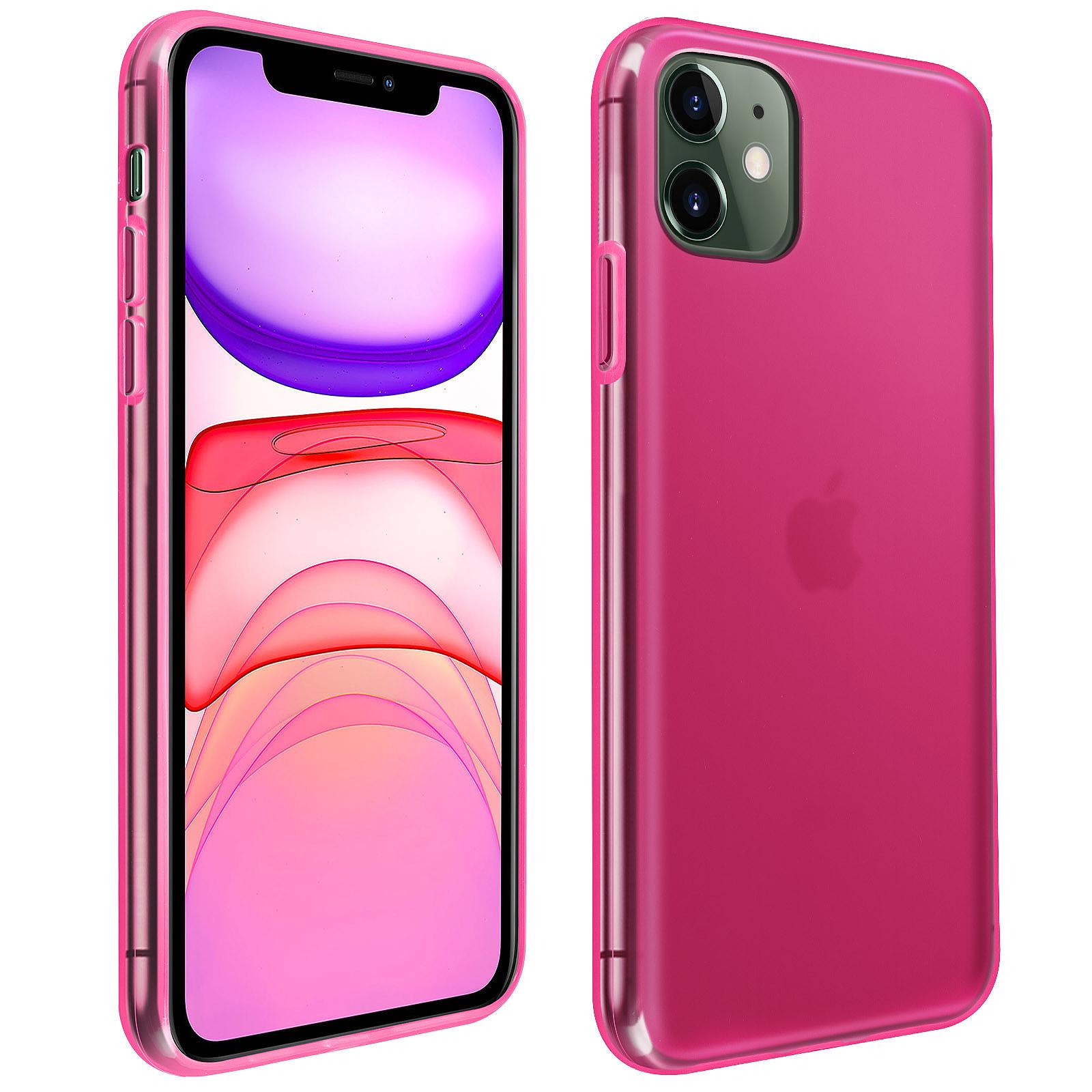 Avizar Coque Rose pour Apple iPhone 11