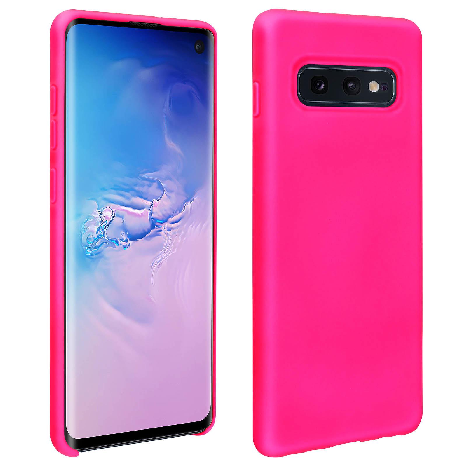 Avizar Coque Rose pour Samsung Galaxy S10e