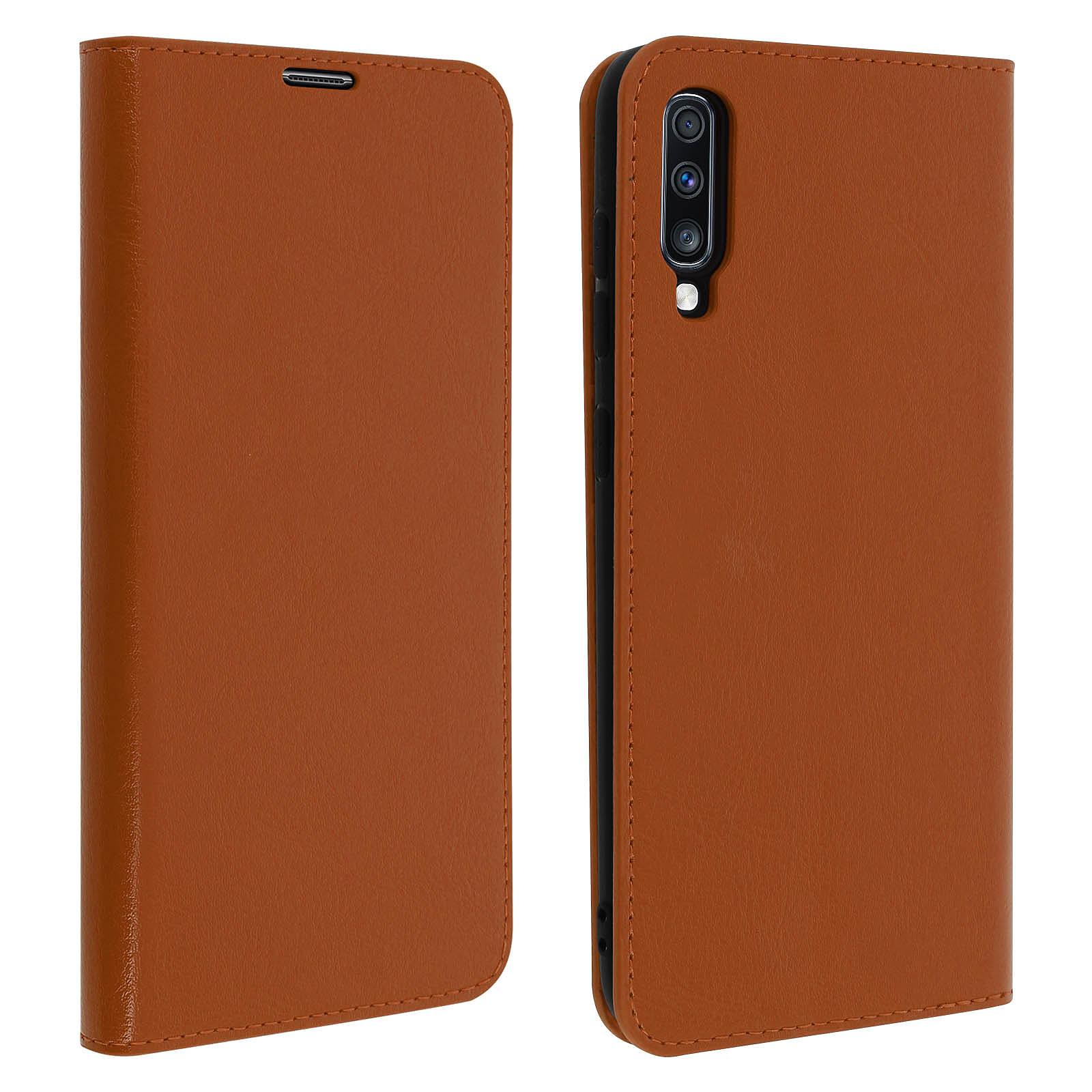Avizar Etui folio Camel pour Samsung Galaxy A70