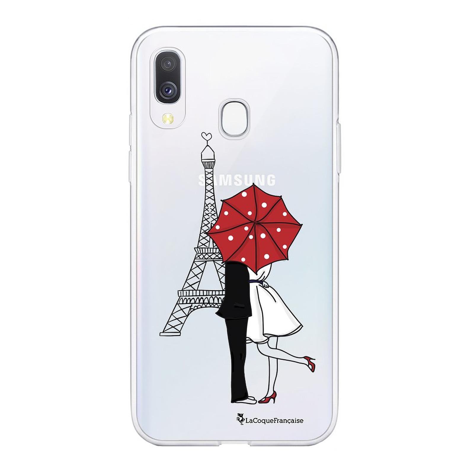 LA COQUE FRANCAISE Coque Samsung Galaxy A20e souple transparente Amour à Paris - Coque téléphone LaCoqueFrançaise sur LDLC.com