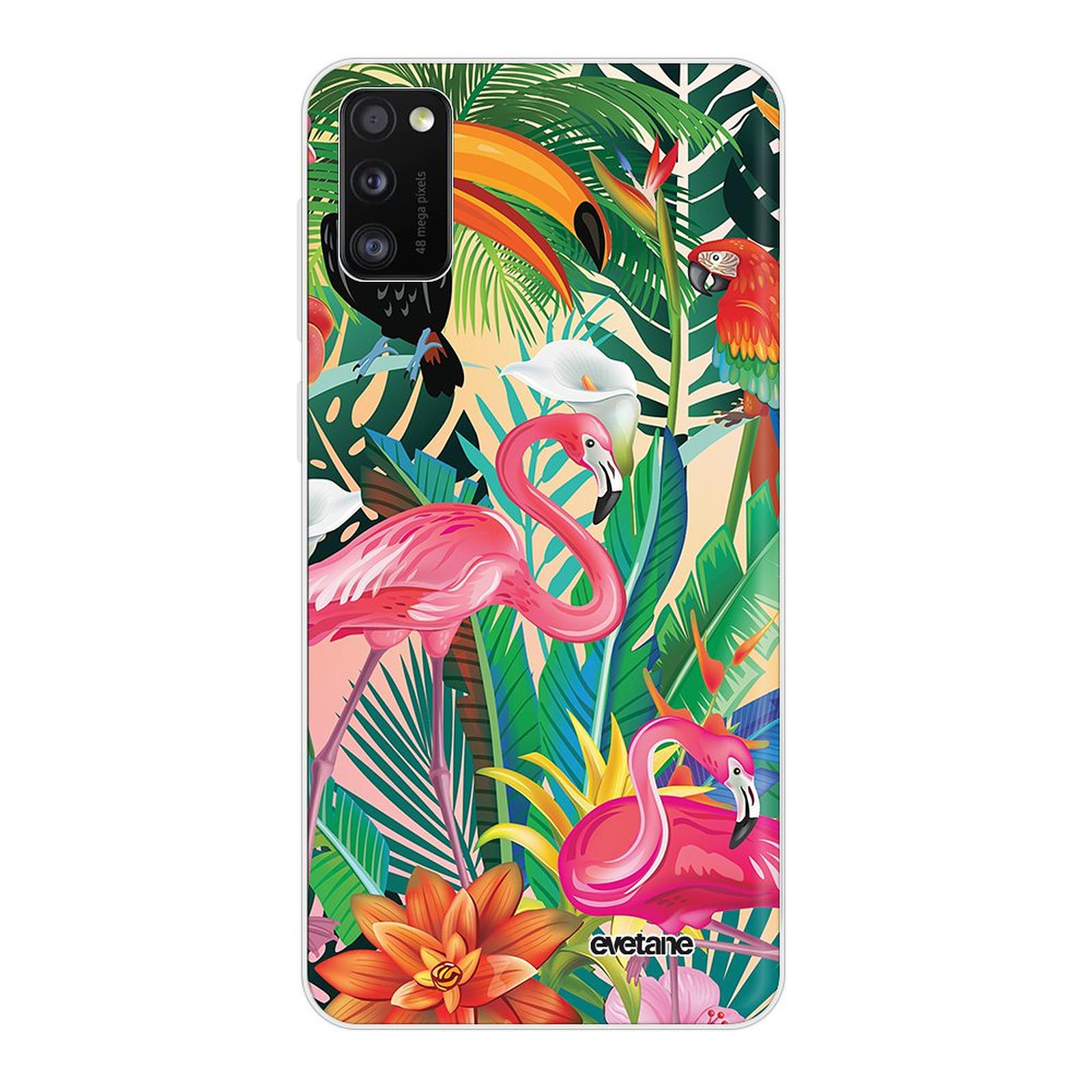 EVETANE Coque Samsung Galaxy A41 souple transparente Animaux Tropicaux - Coque téléphone Evetane sur LDLC