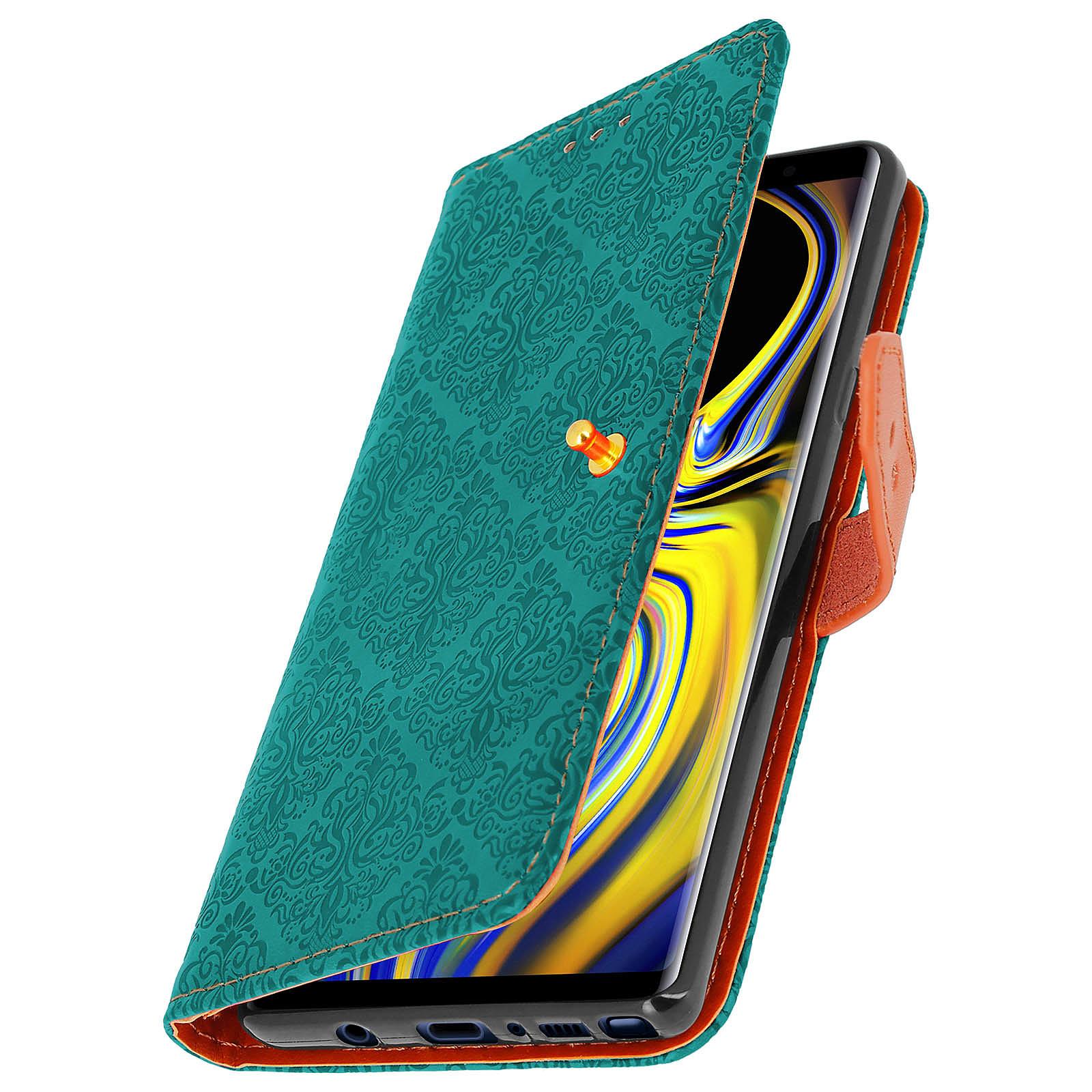 Avizar Etui folio Bleu pour Samsung Galaxy Note 9