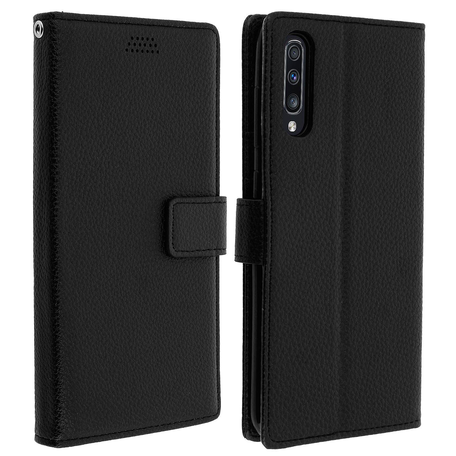 Avizar Etui folio Noir pour Samsung Galaxy A70