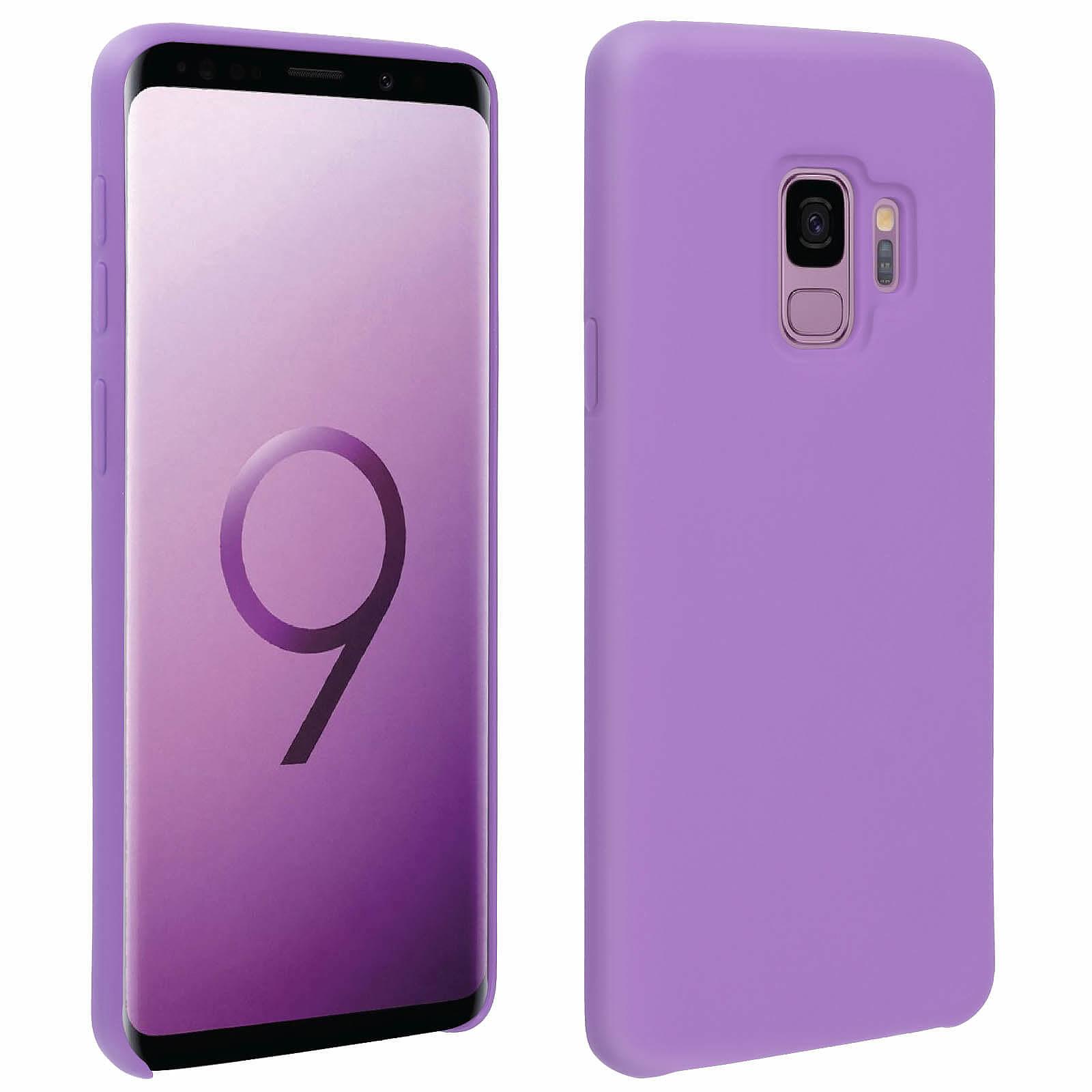 Avizar Coque Violet pour Samsung Galaxy S9