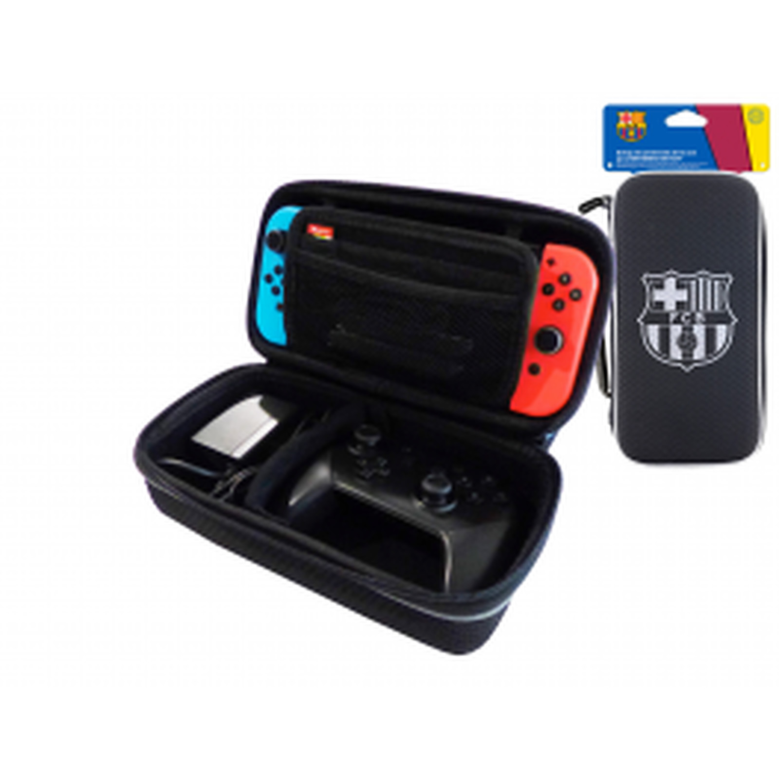 FCB FC Barcelone Housse de transport XL pour Nintendo Switch