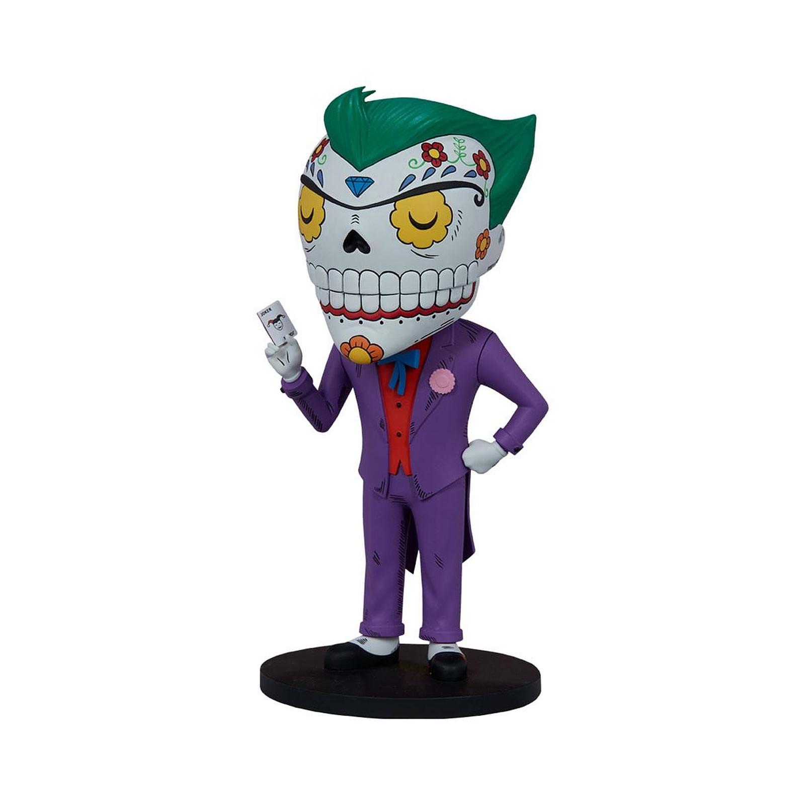 DC Comics - Statuette The Joker Calavera 20 cm