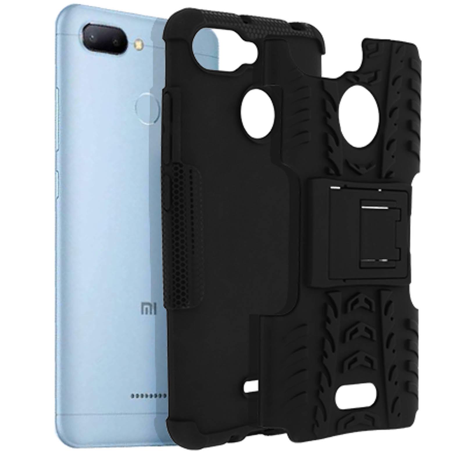 Avizar Coque Noir pour Xiaomi Redmi 6A, Xiaomi Redmi 6