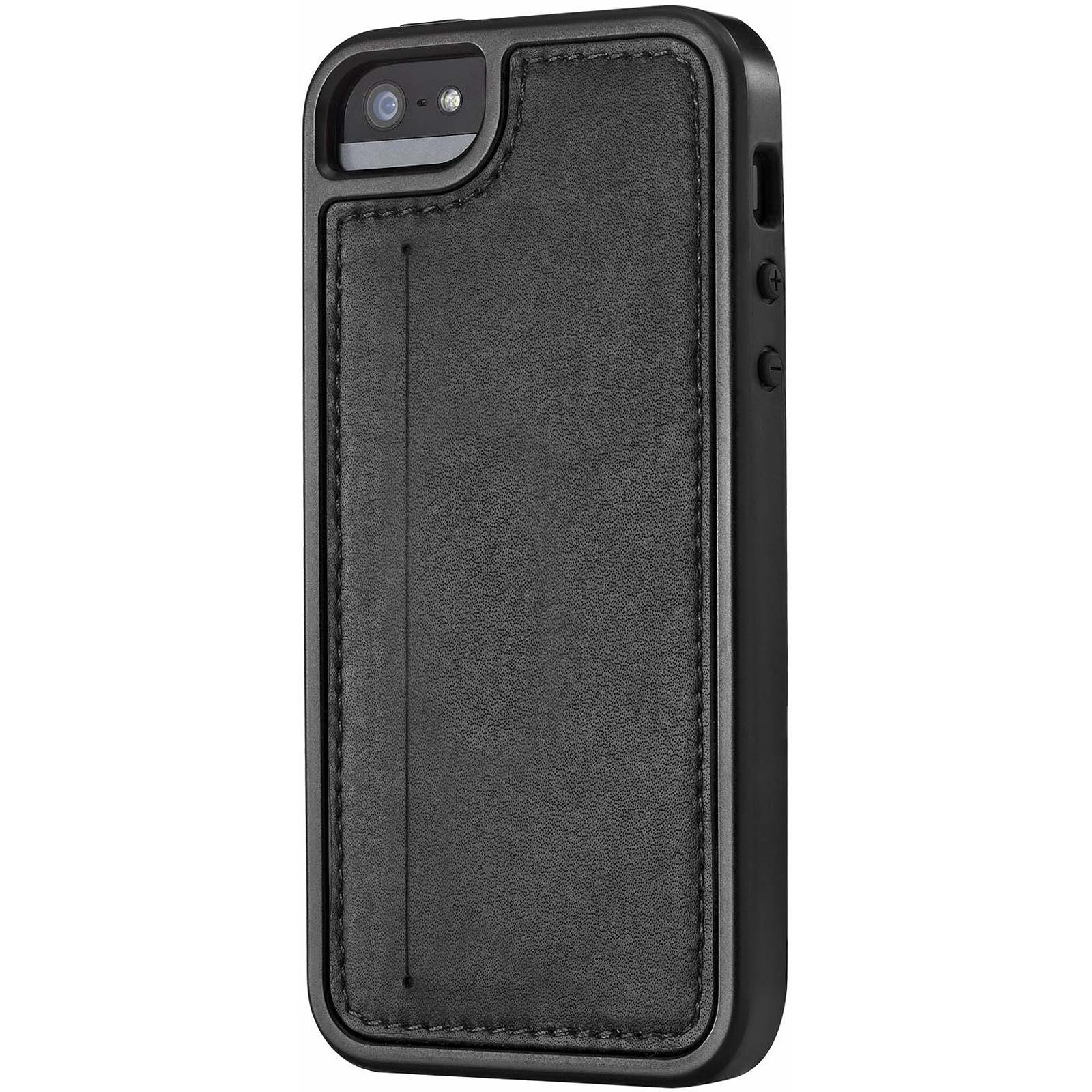 SKECH Coque KAMEO LEATHER iPhone 5/5S Noir