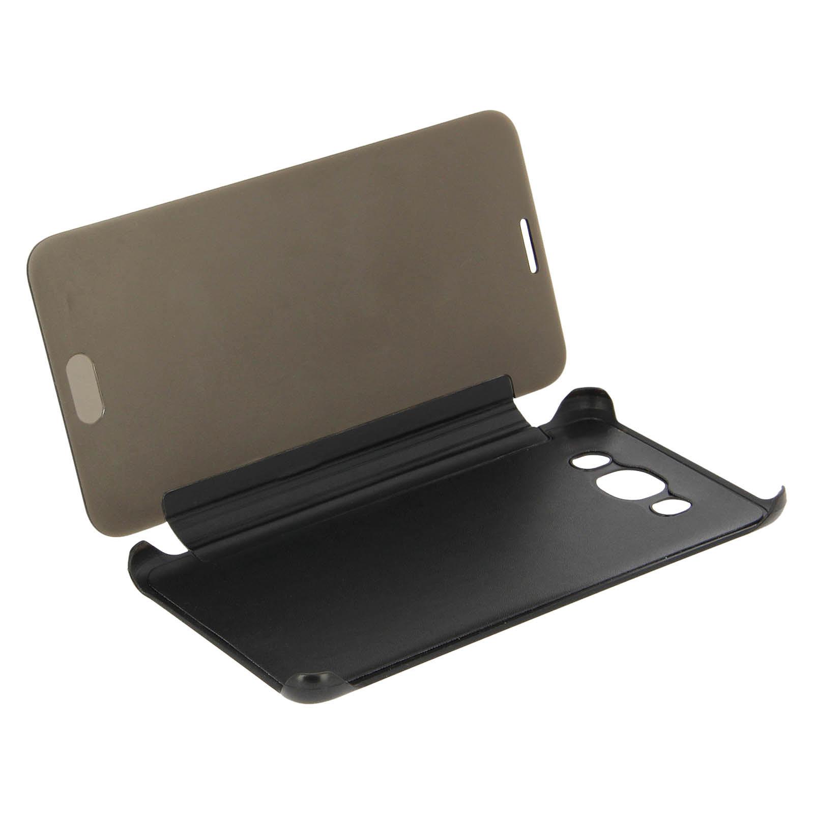 Avizar Etui folio Noir pour Samsung Galaxy J5 2016