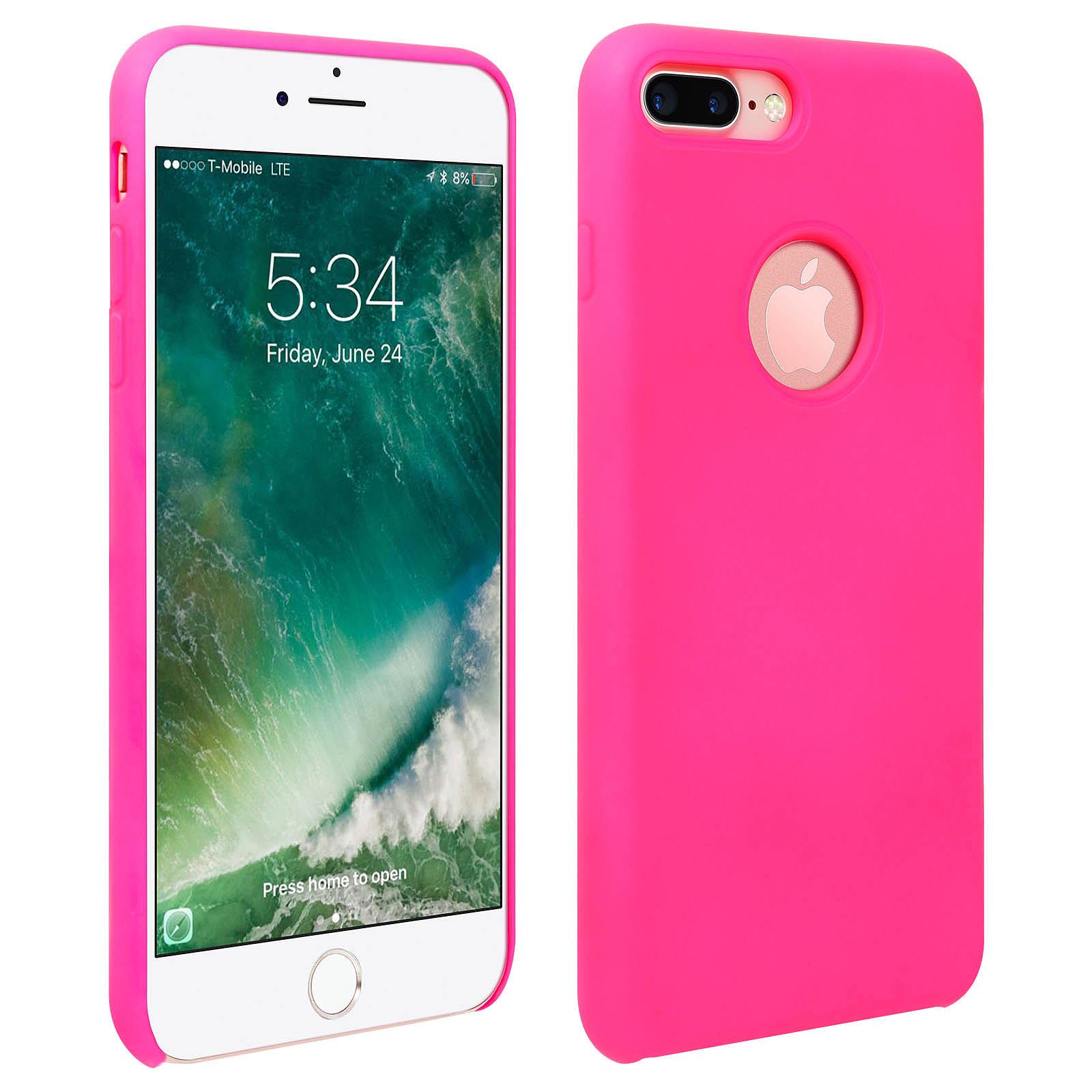 Avizar Coque Rose pour Apple iPhone 7 Plus , Apple iPhone 8 Plus