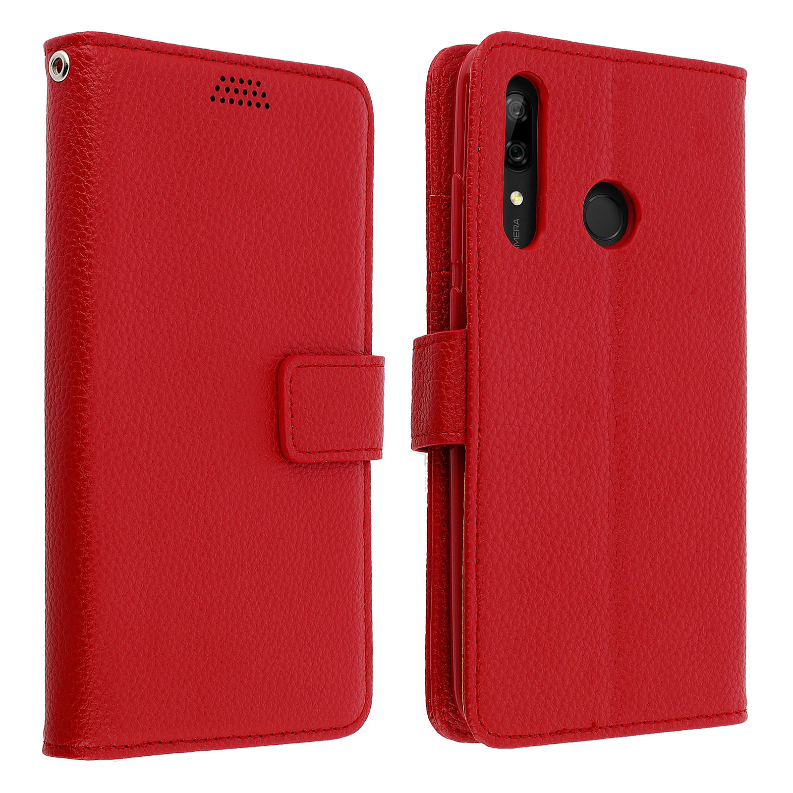 Avizar Etui folio Rouge pour Huawei P Smart Z , Honor 9X
