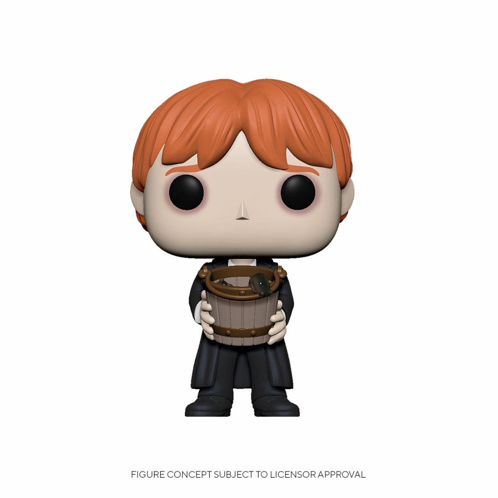 Harry Potter - Figurine POP! Ron Puking Slugs w/Bucket 9 cm