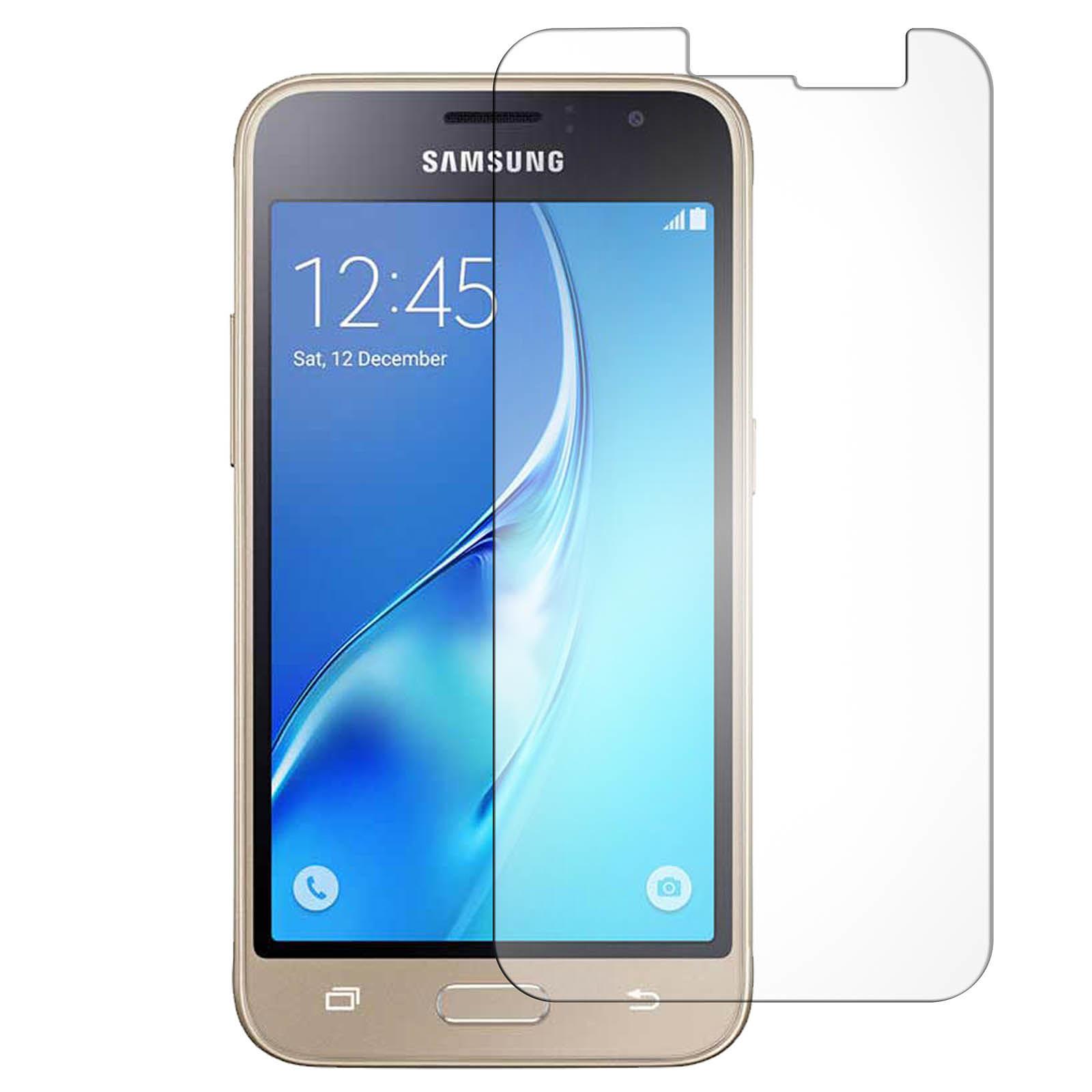 Avizar Film verre trempé Transparent pour Samsung Galaxy J1 2016