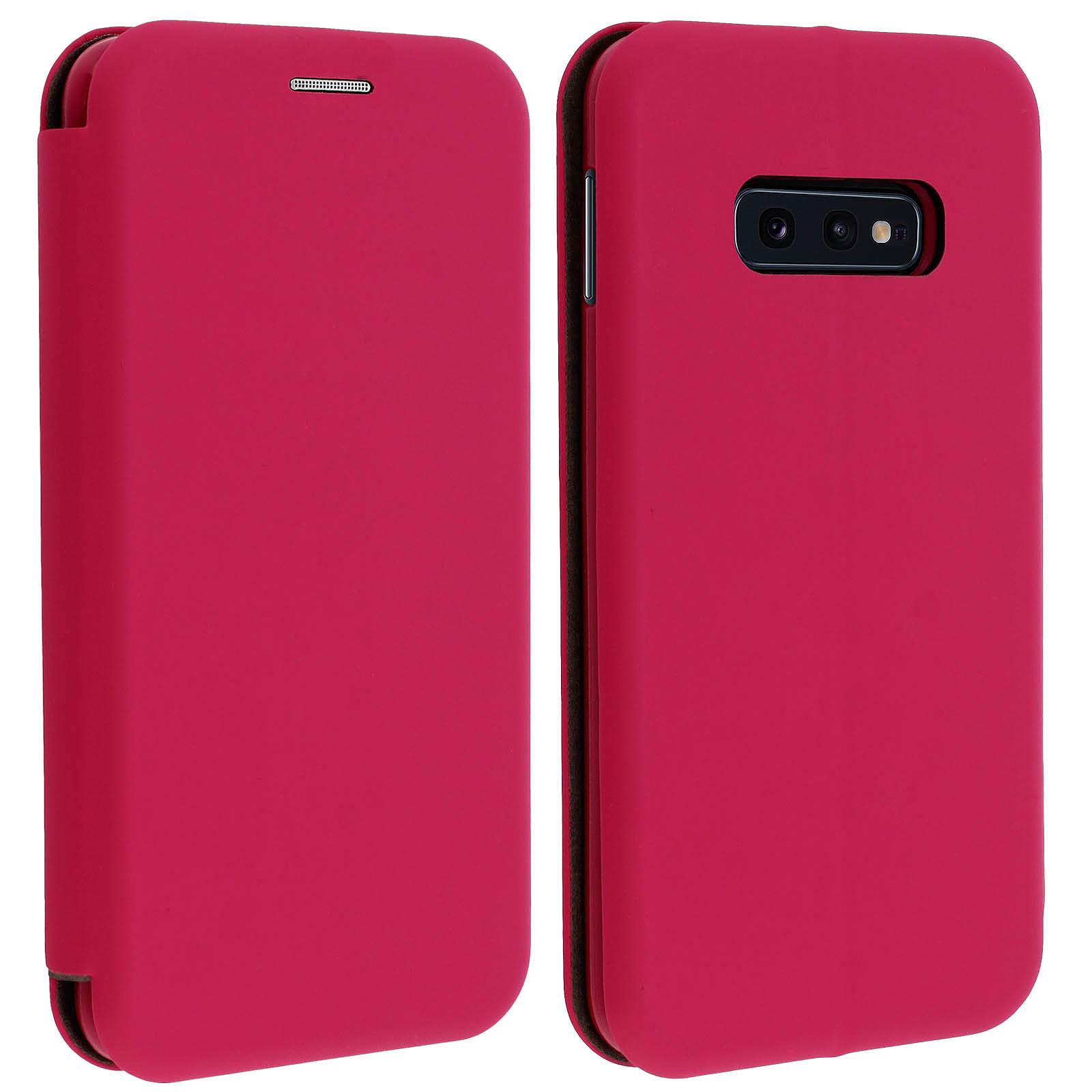 Avizar Etui folio Fuchsia pour Samsung Galaxy S10e