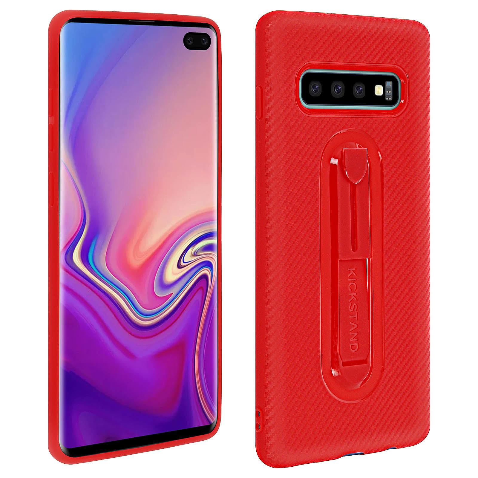 Avizar Coque Rouge pour Samsung Galaxy S10 Plus