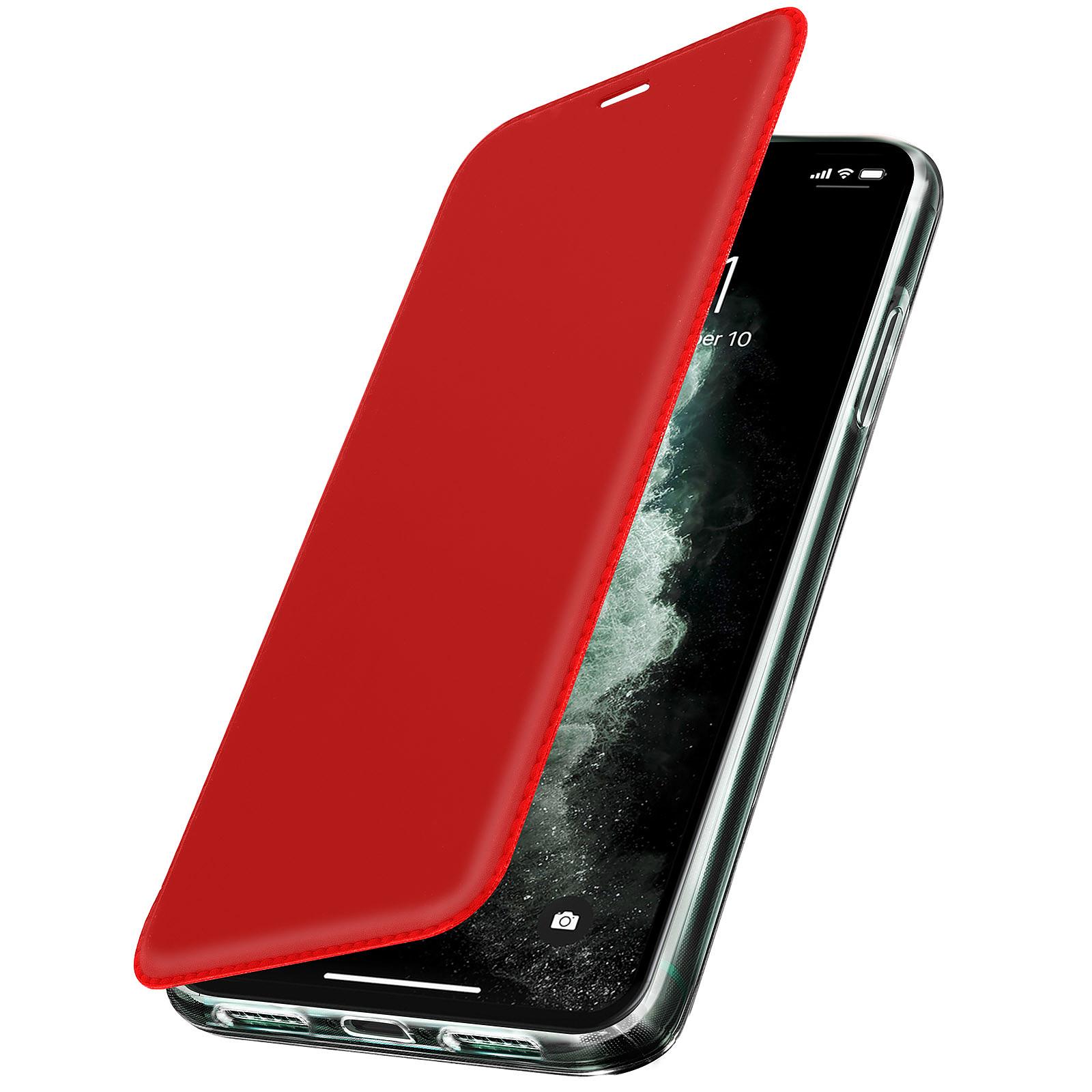 Avizar Etui folio Rouge Miroir pour Apple iPhone 11 Pro