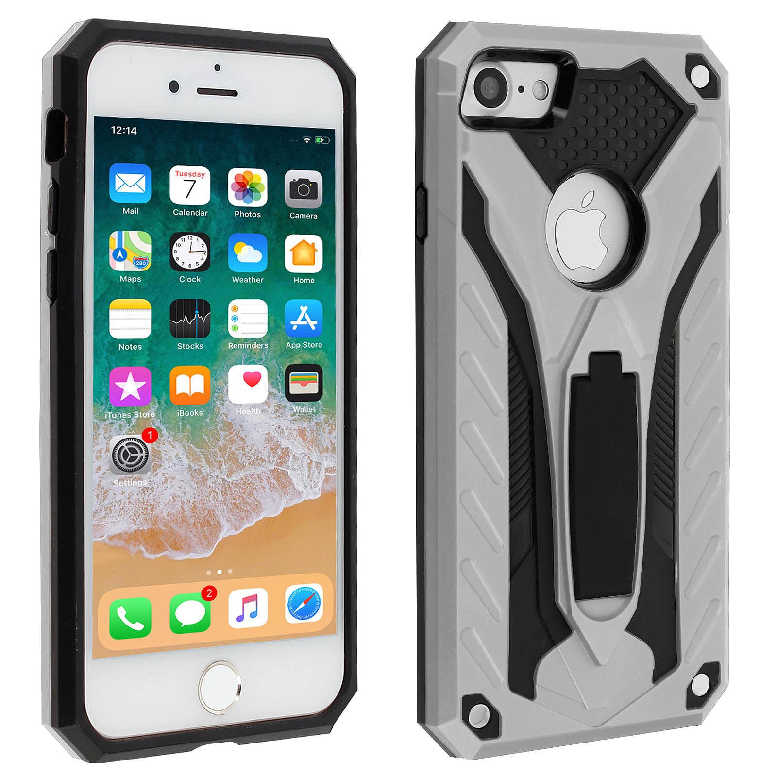 Avizar Coque Argent pour Apple iPhone 7 , Apple iPhone 8 , Apple iPhone SE 2020