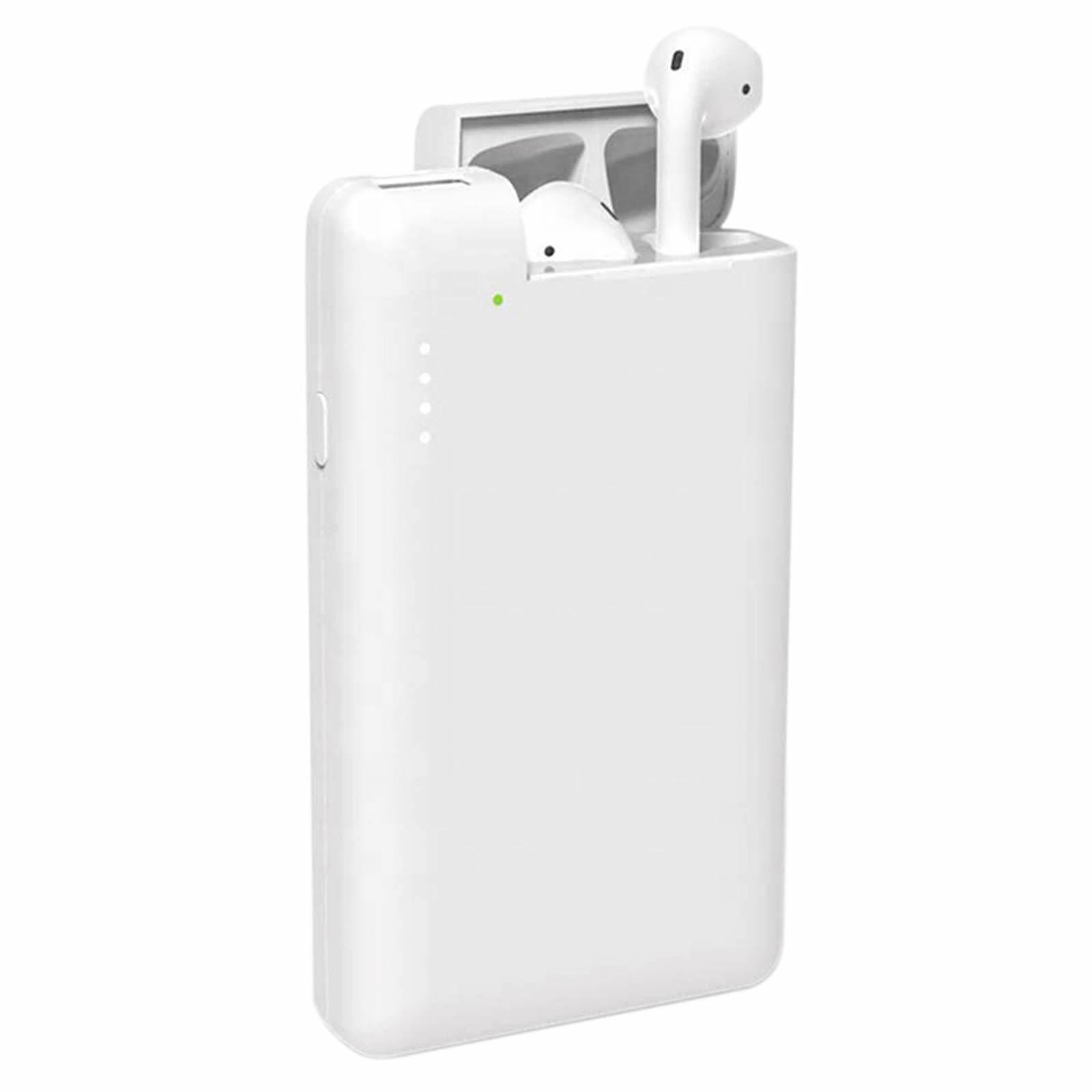 Avizar Chargeur de secours Blanc pour Smartphones et tablettes