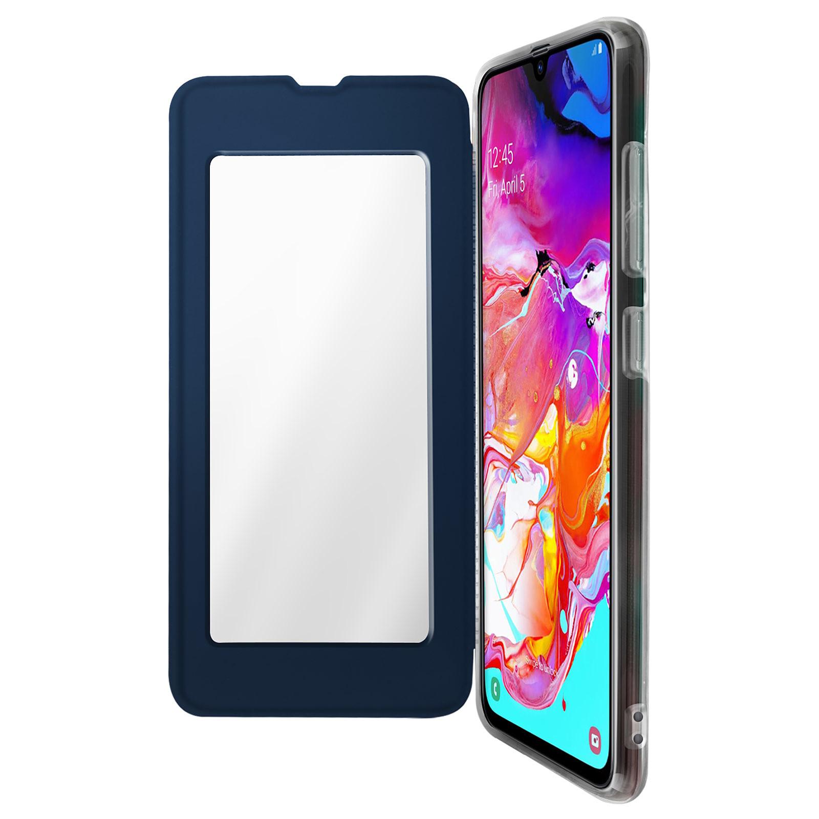 Avizar Etui folio Bleu Nuit pour Samsung Galaxy A70