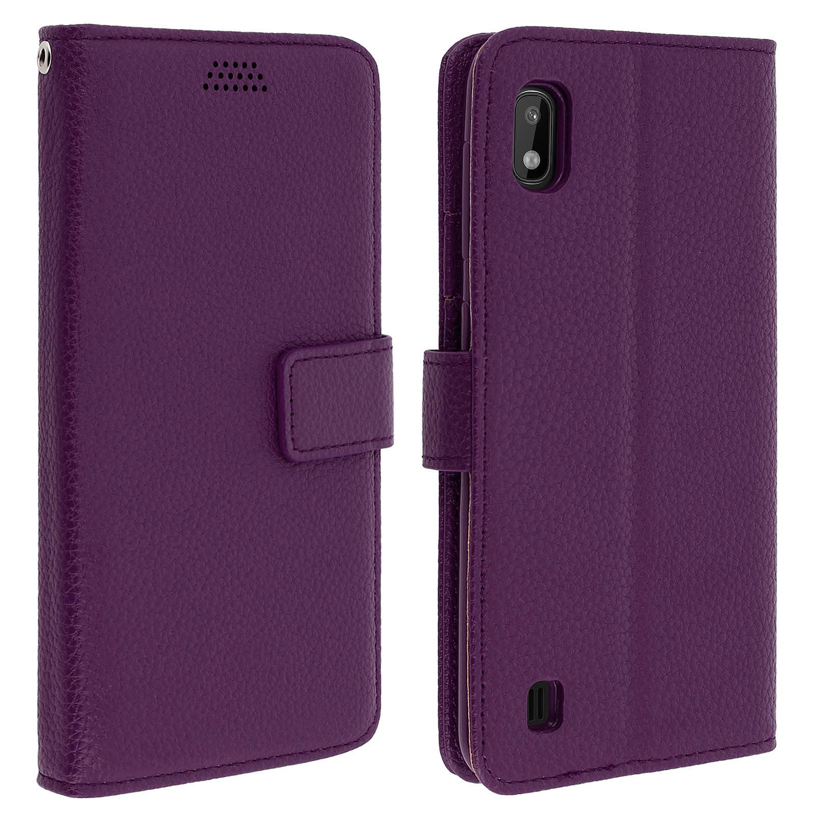 Avizar Etui folio Violet pour Samsung Galaxy A10