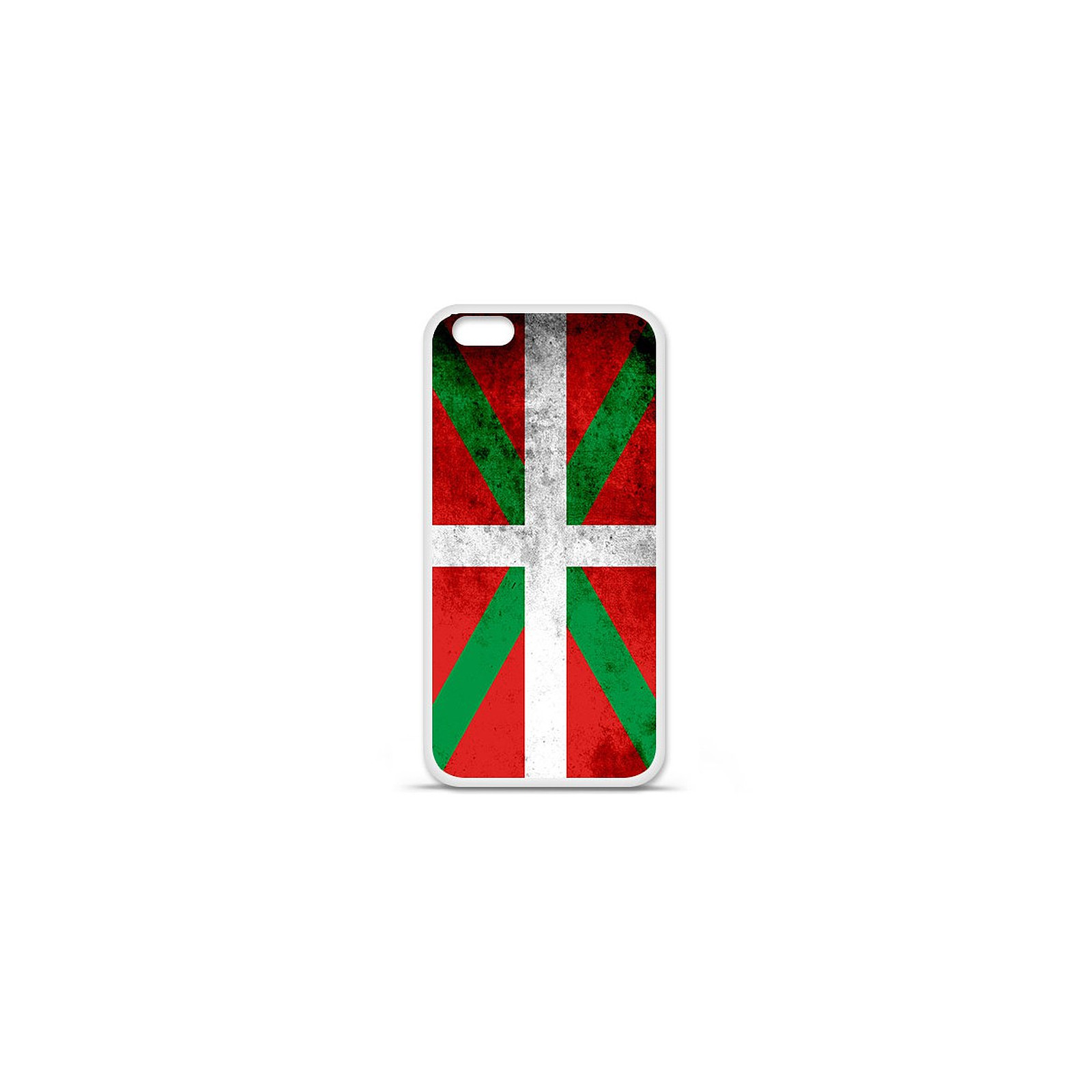 1001 Coques Coque silicone gel Apple IPhone 7 Plus motif Drapeau Basque