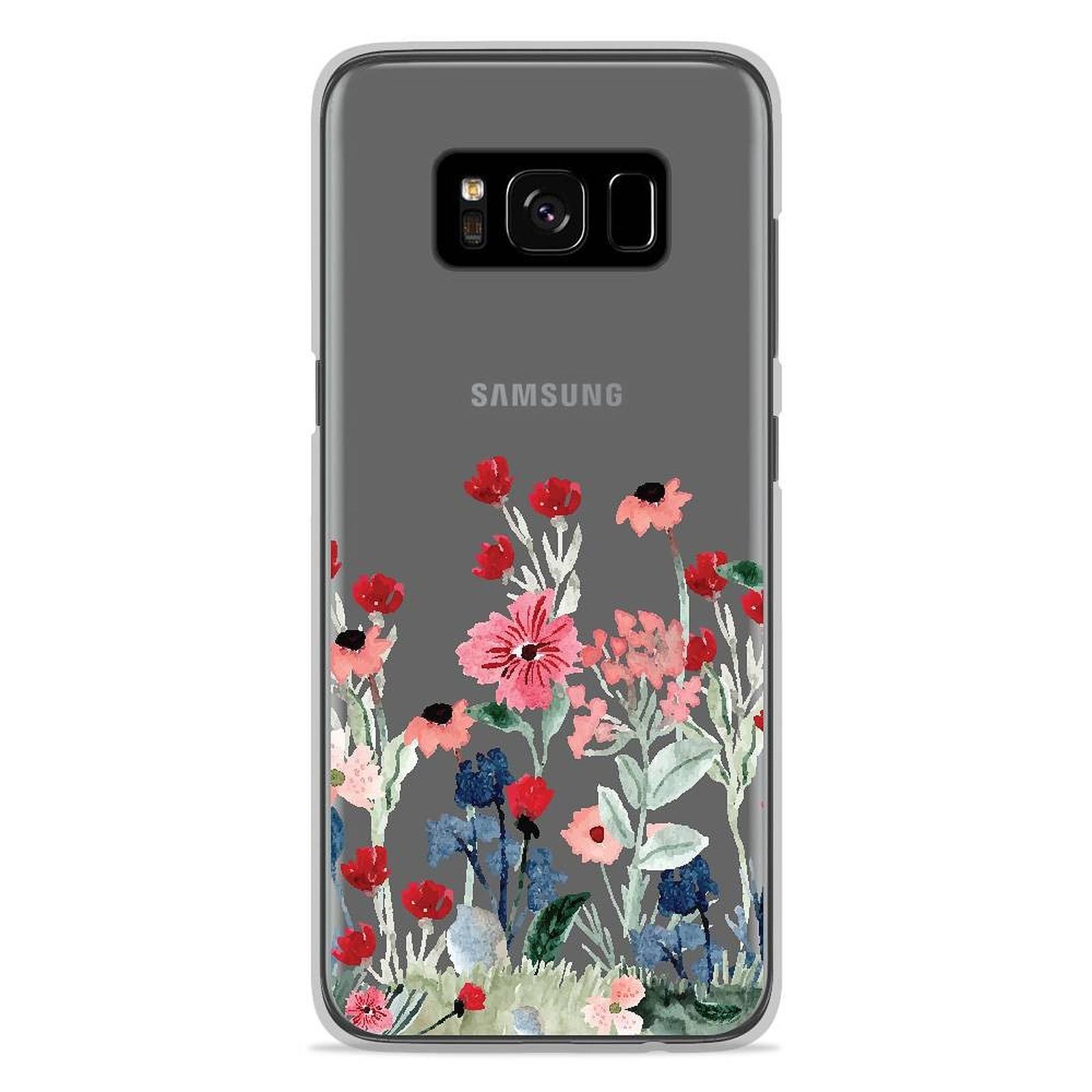 1001 Coques Coque silicone gel Samsung Galaxy S8 motif Printemps en fleurs