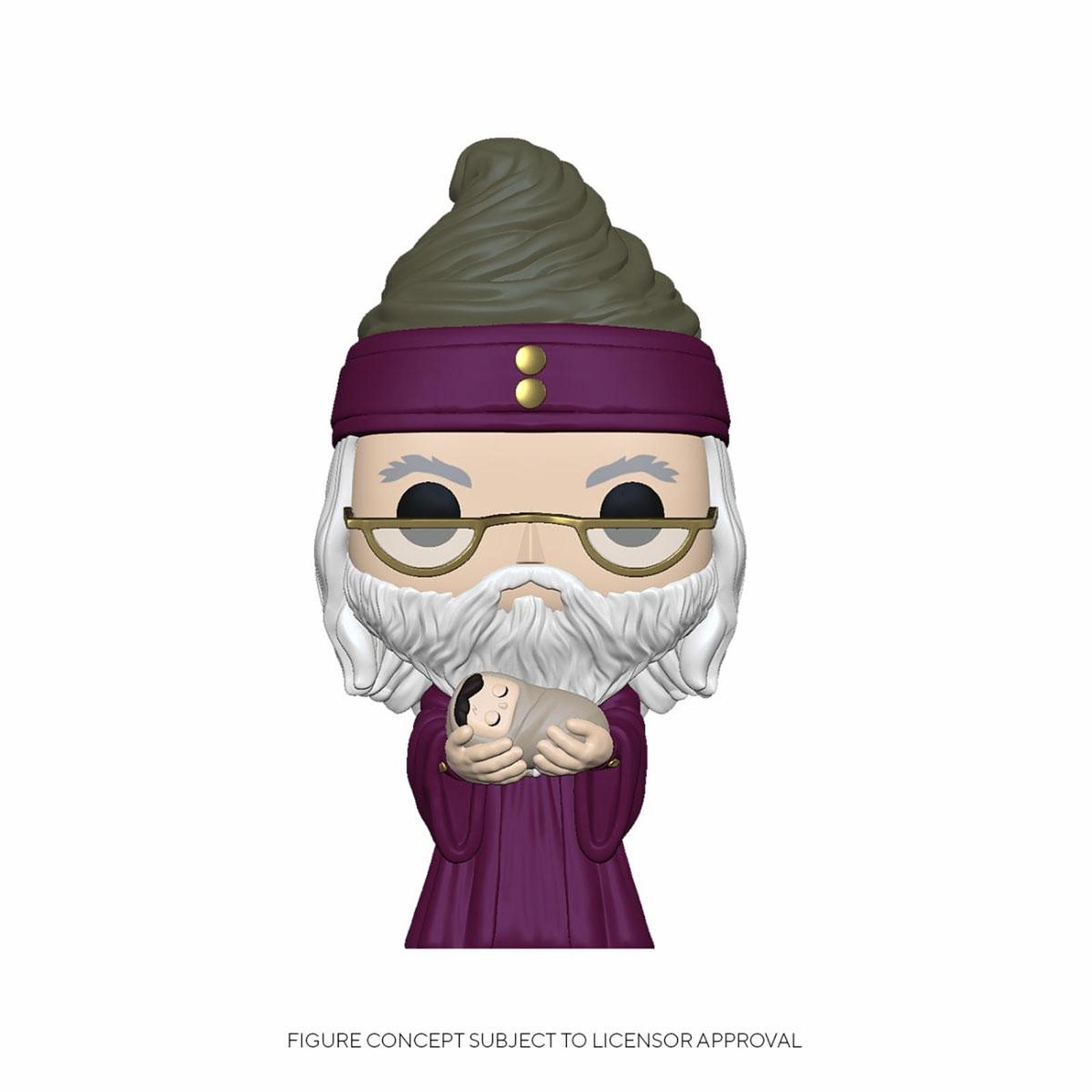 Harry Potter - Figurine POP! Dumbledore w/Baby Harry 9 cm
