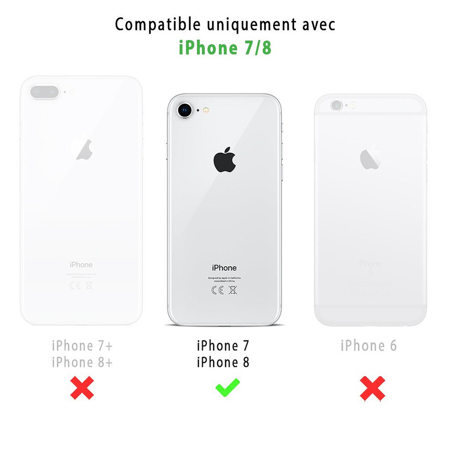 coque iphone 8 coquelicot