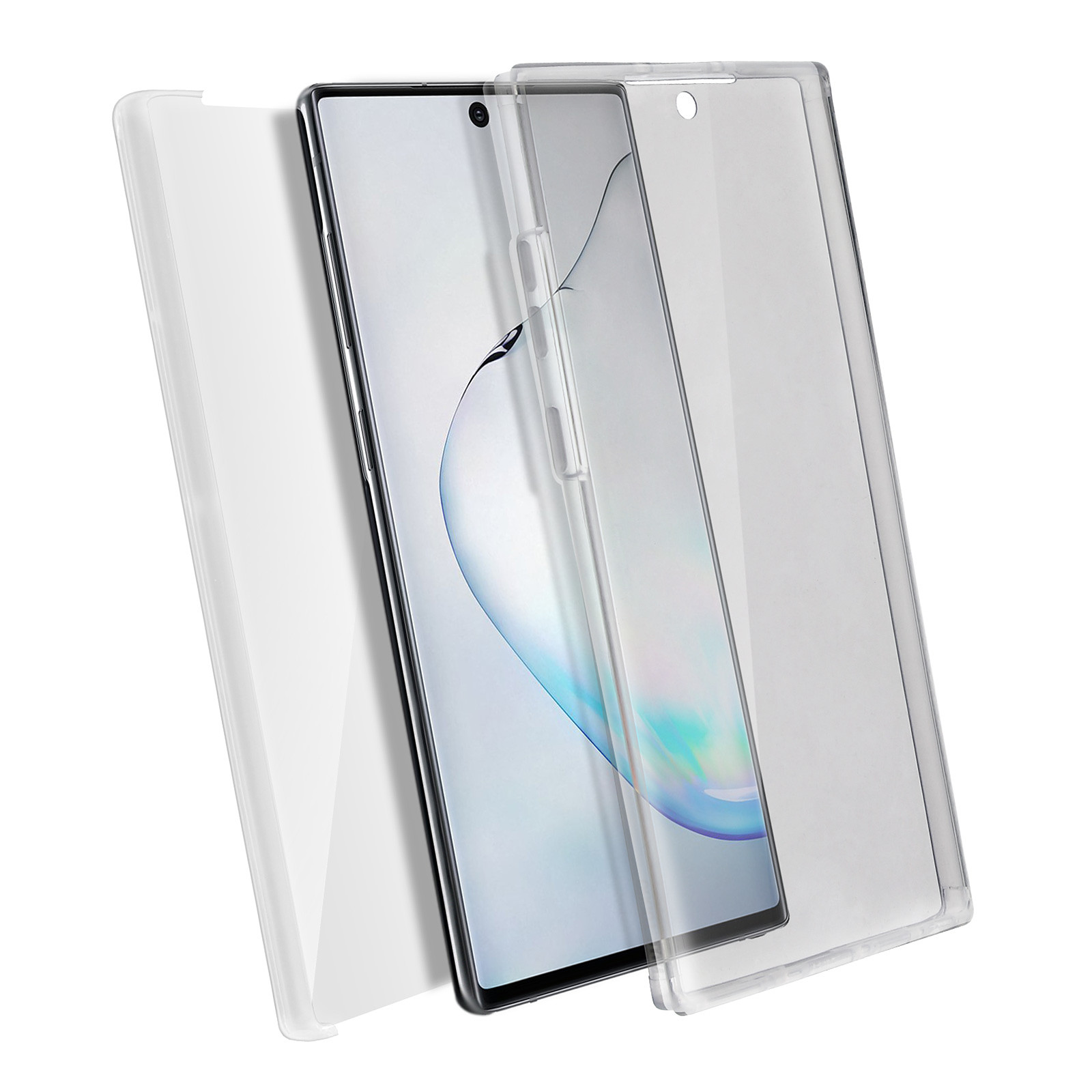 Avizar Coque Transparent pour Samsung Galaxy Note 10 Plus