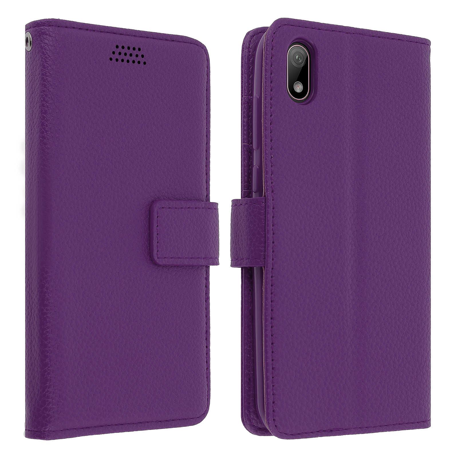 Avizar Etui folio Violet pour Huawei Y5 2019 , Honor 8S