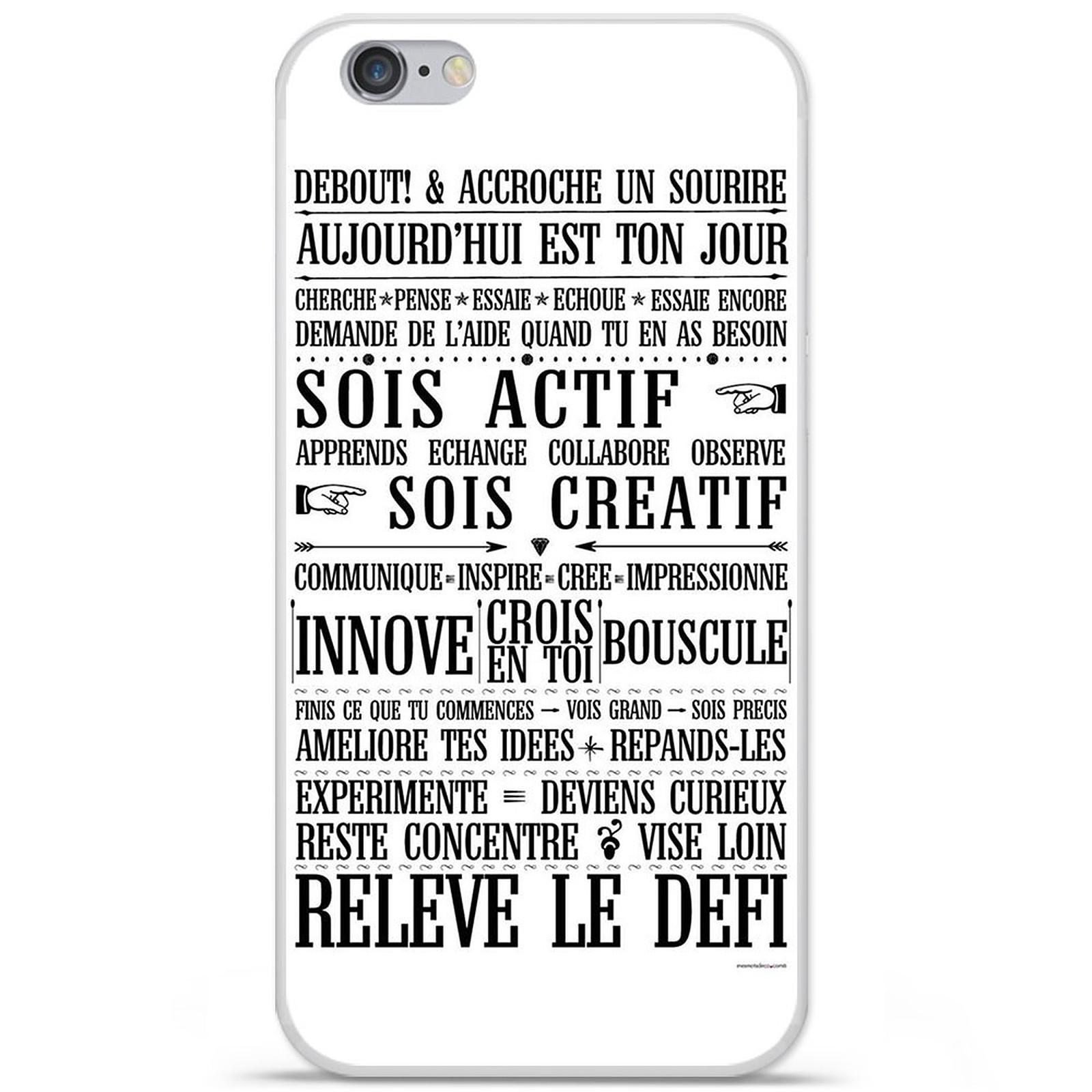1001 Coques Coque silicone gel Apple IPhone 7 Plus motif Citation 11